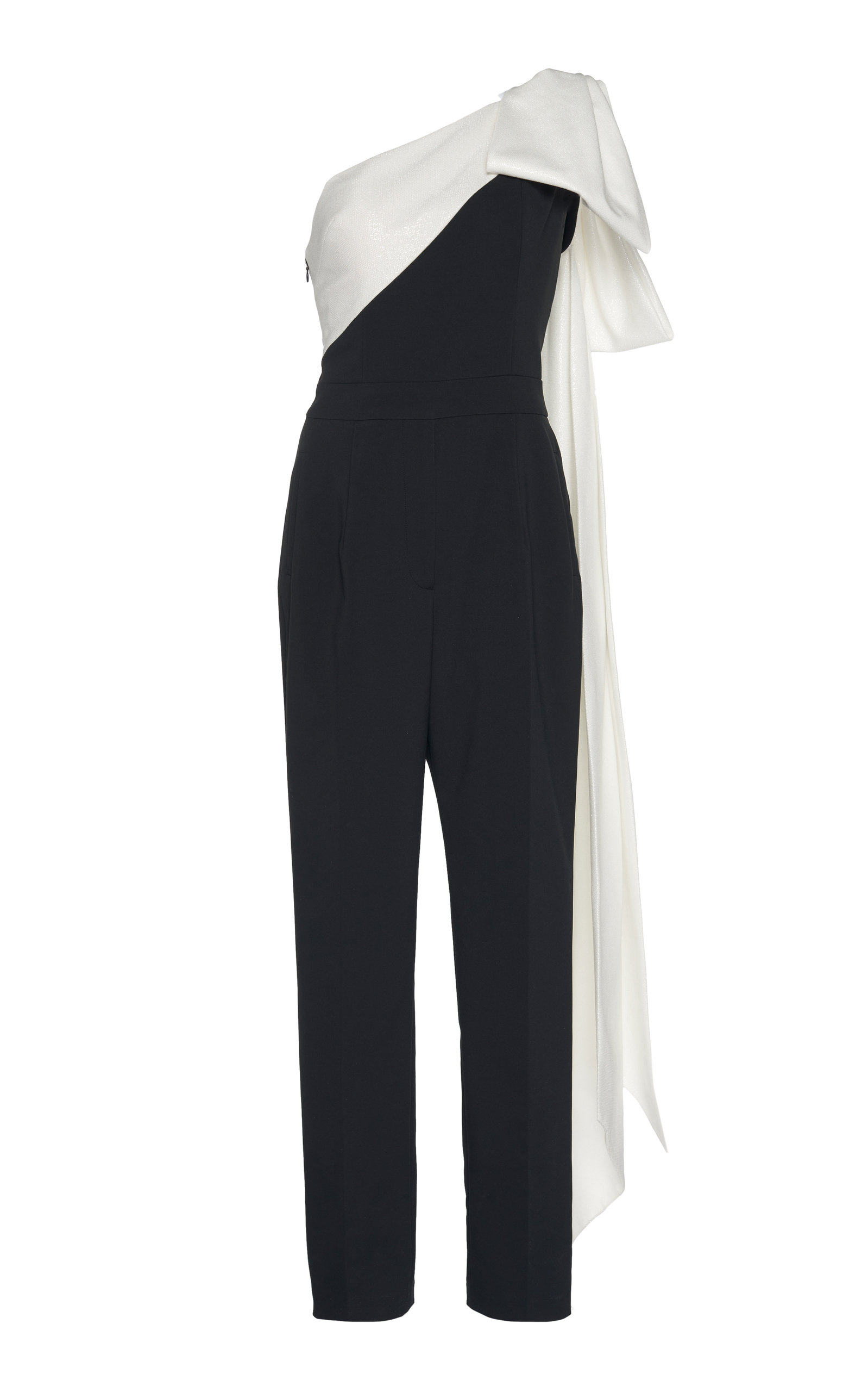 e709ca147a2 One Shoulder Bow Jumpsuit by Viktor   Rolf