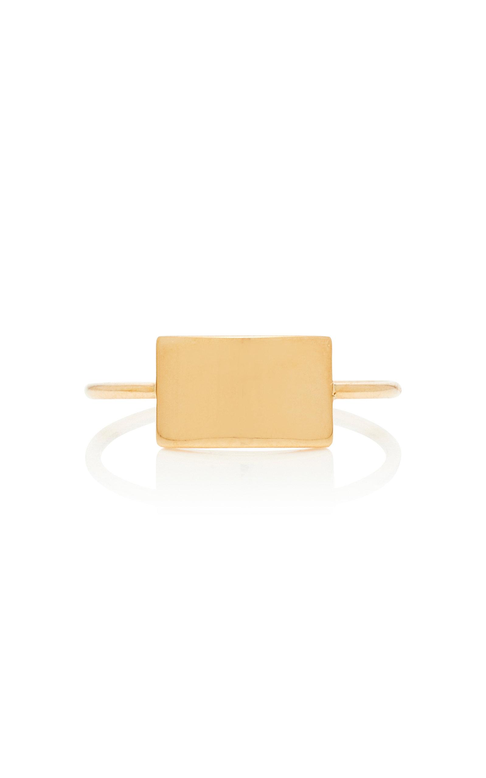 GINETTE NY | Ginette NY Mini Ever 18K Rose Gold Ring | Goxip