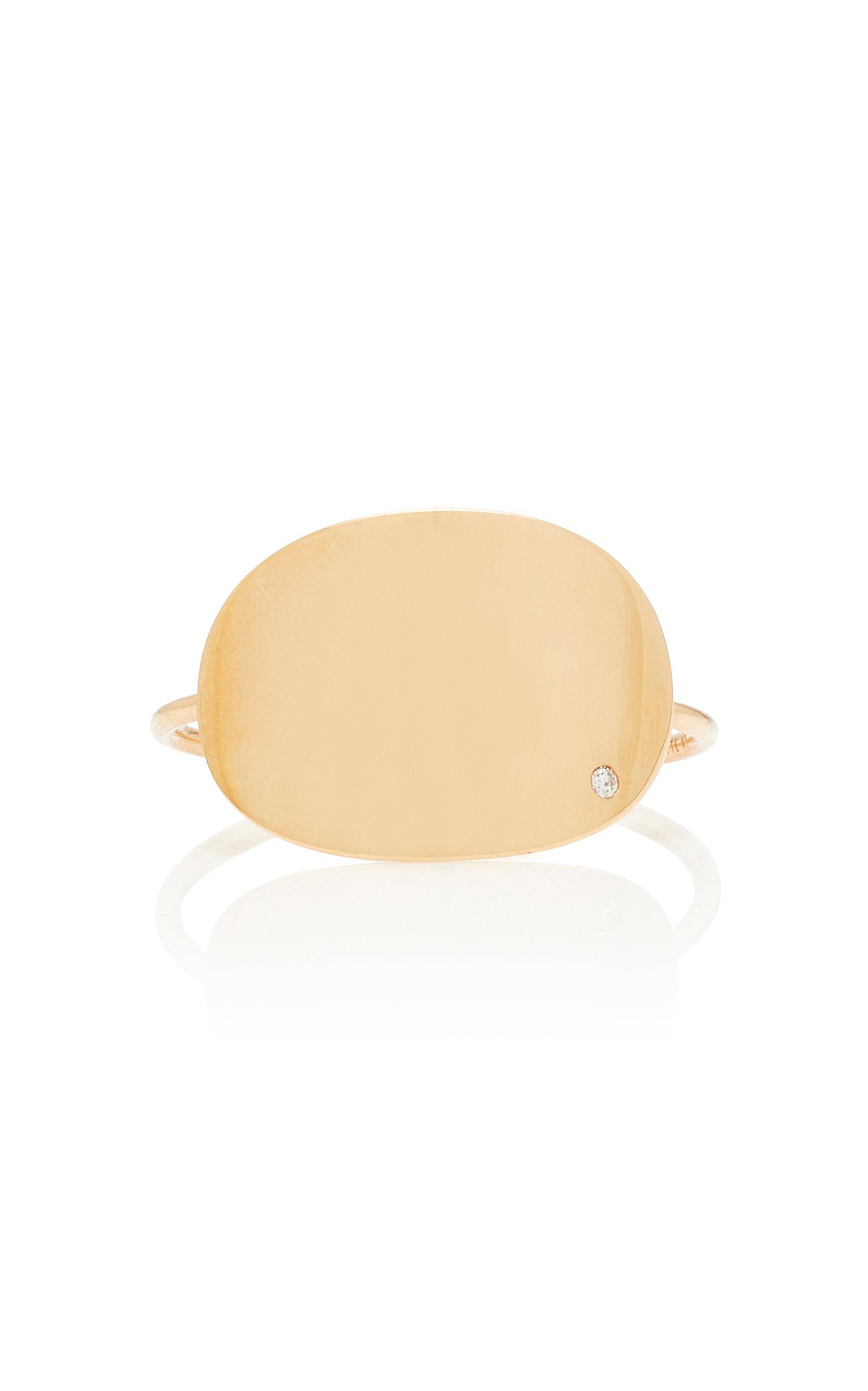 GINETTE NY | Ginette NY 18K Rose Gold Diamond Ring | Goxip