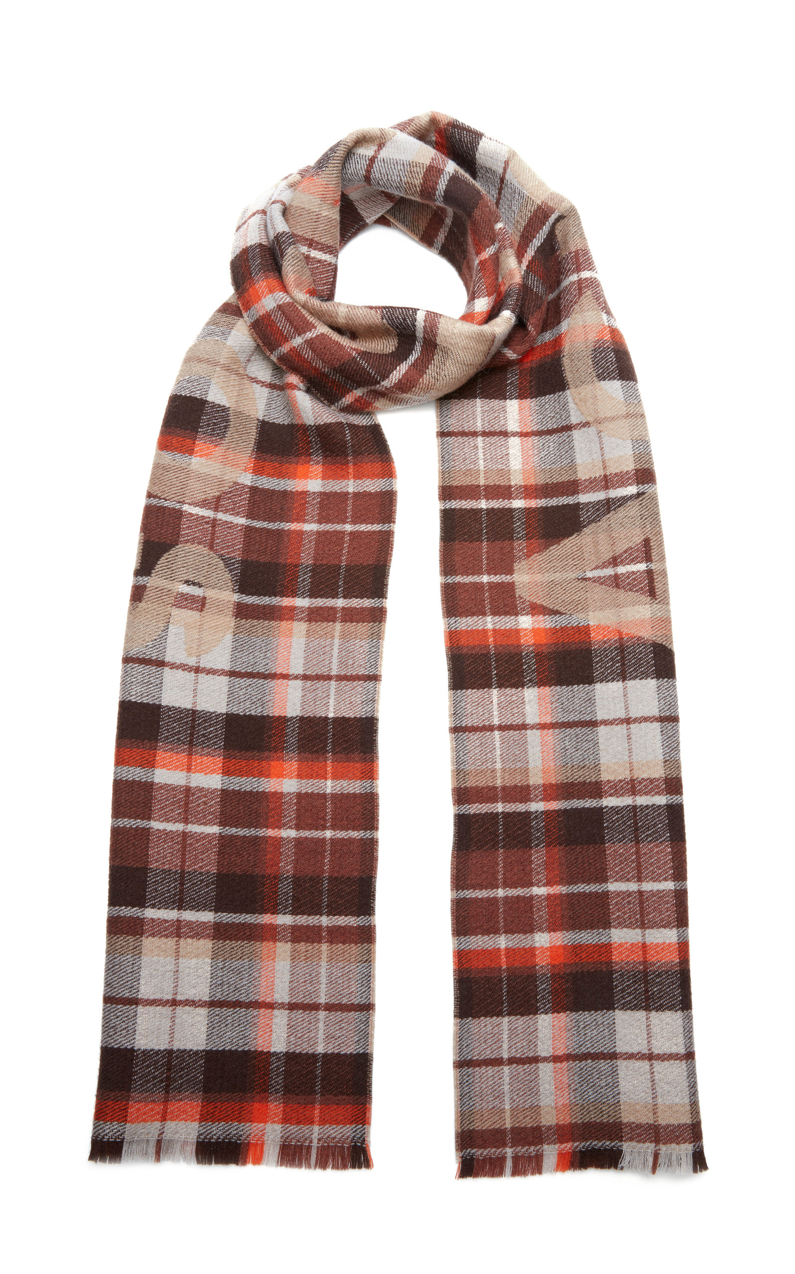 7be0691cedc Victoria Plaid Wool Scarf by Acne Studios | Moda Operandi