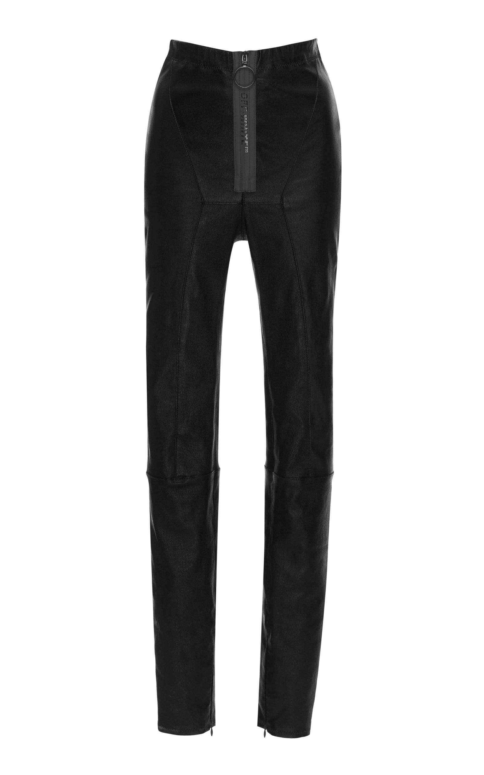 f08533c5061e4 Paneled Leather Leggings by Off-White c/o Virgil Abloh   Moda Operandi