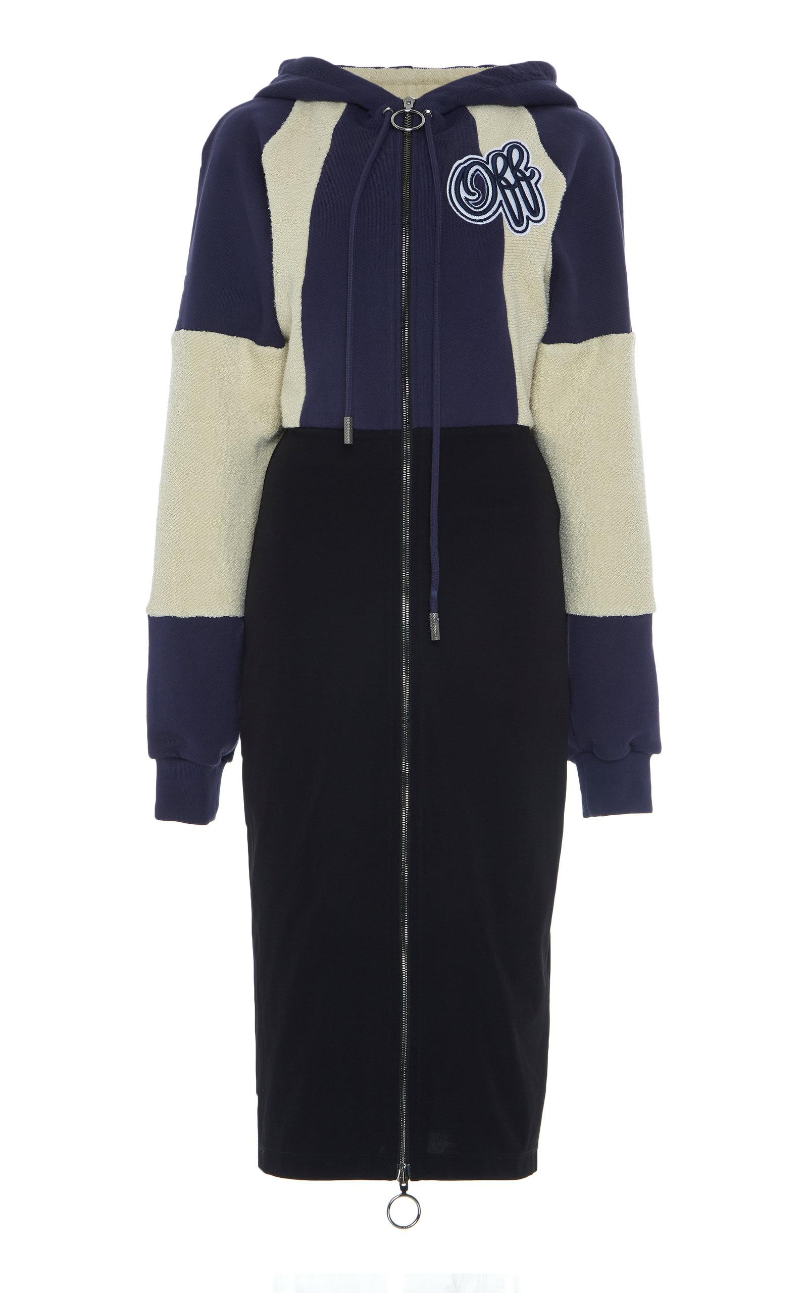 9fd6f20d7224 Tubino Cotton College Midi Dress by Off-White c o Virgil Abloh ...