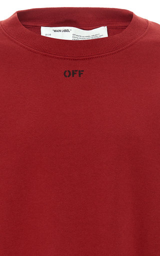 bc11ee0a Off-White c/o Virgil AblohFloral-Print Cotton-Jersey Sweatshirt