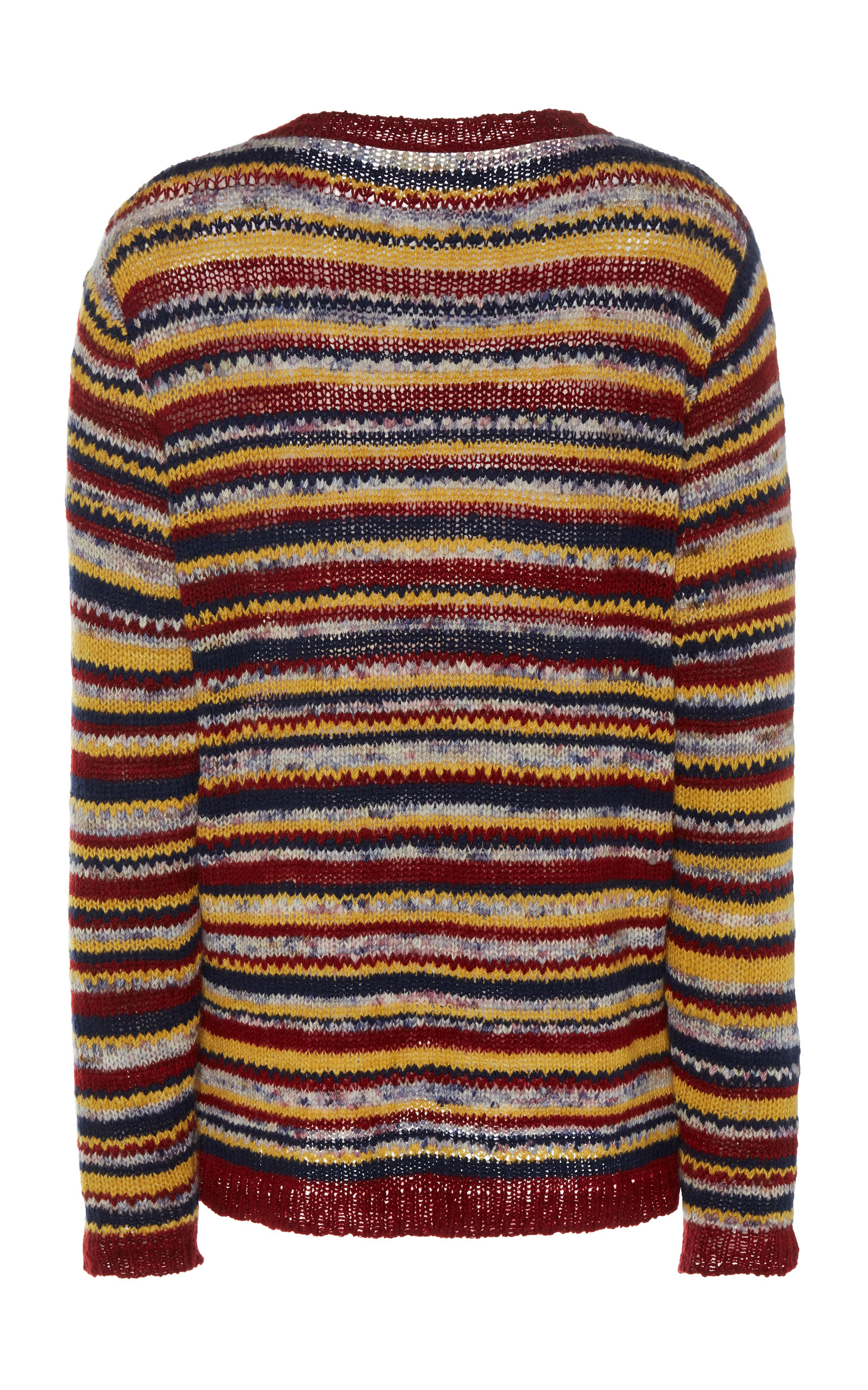 fbf6f2b90 Television Striped Cashmere Sweater by The Elder Statesman