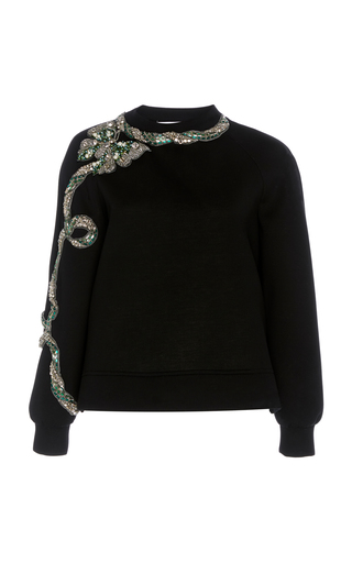 DICE KAYEK | Dice Kayek Sequin Embellished Knit Pull Over | Goxip