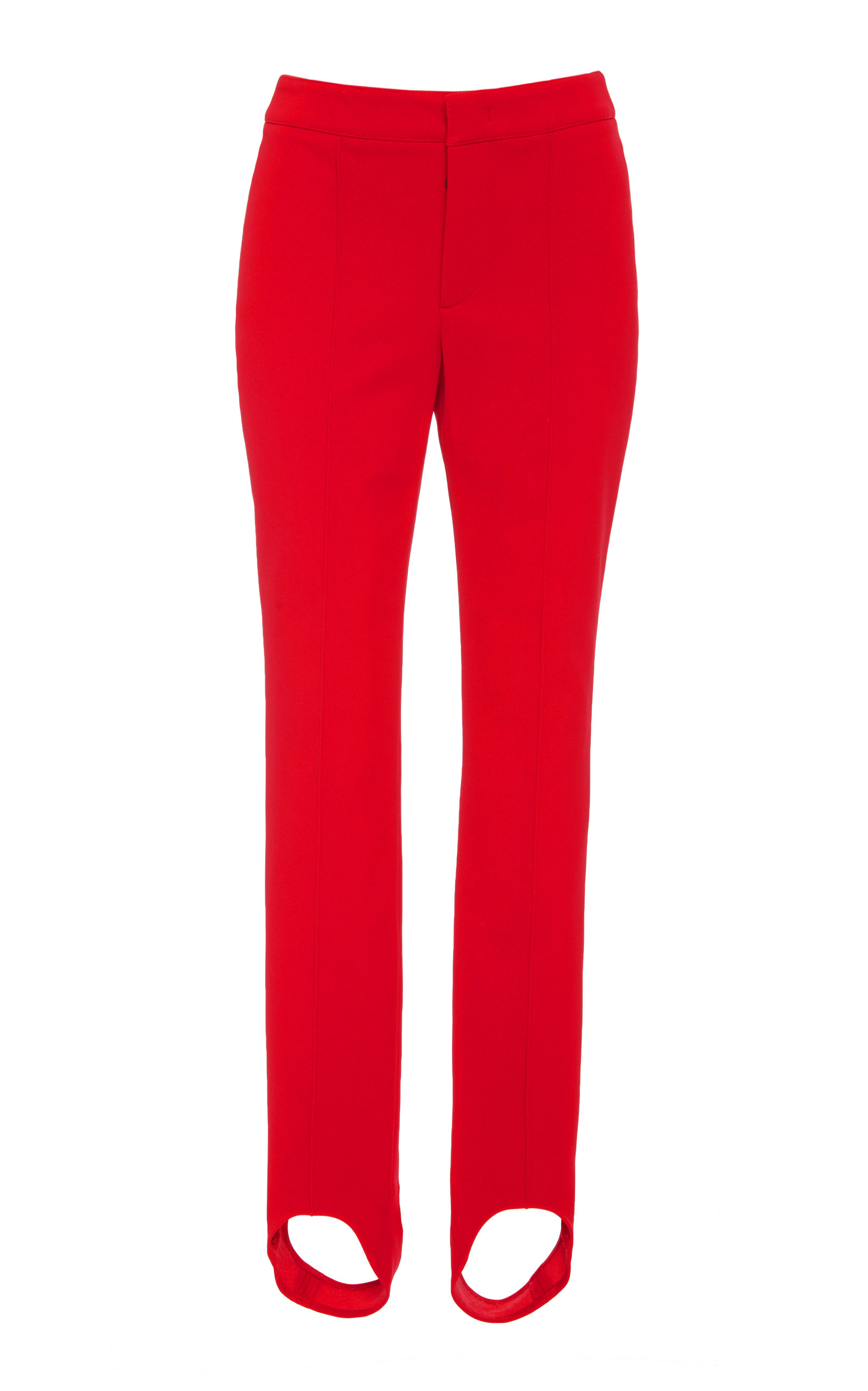 Moncler Grenoble Pants Mid-Rise Stirrup Stretch-Twill Leggings