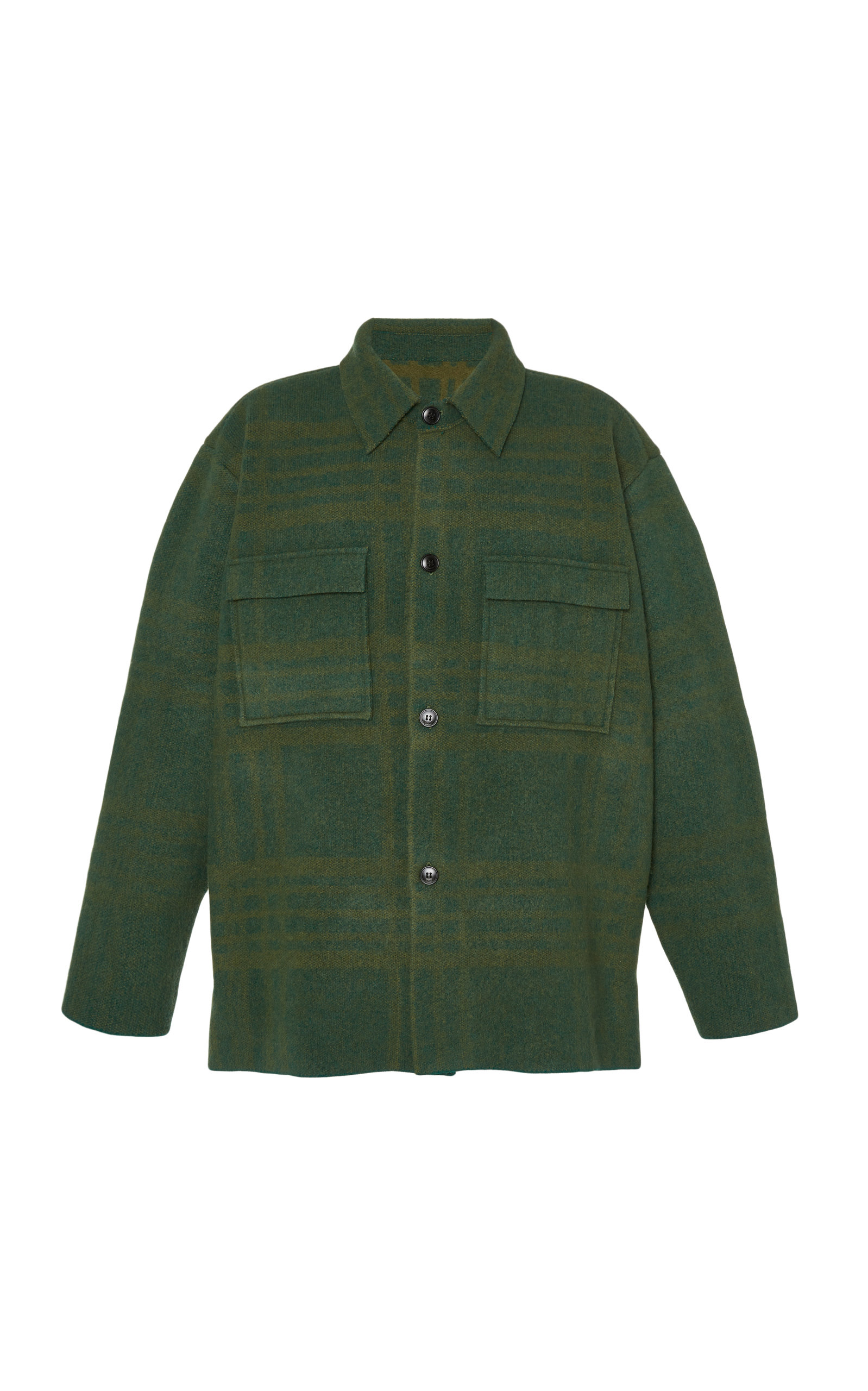 Checked Wool Shirt by Jacquemus