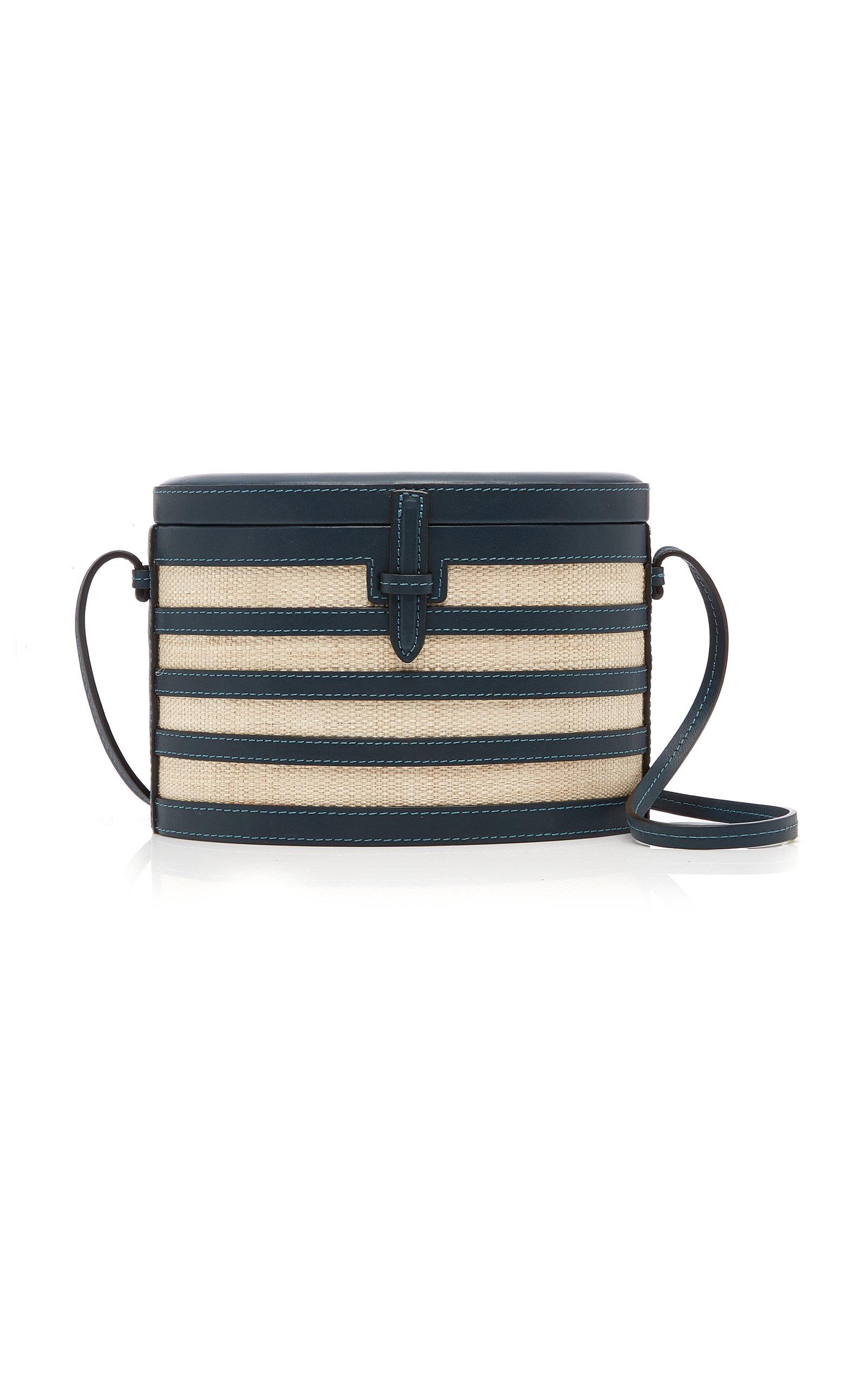 befeaecb22d4 Napa and Straw Stripe Trunk Bag by Hunting Season | Moda Operandi