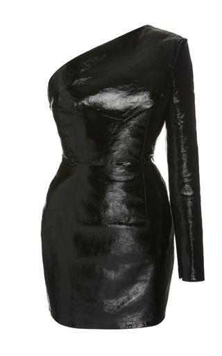Zeynep Arçay Backless Leather Dress
