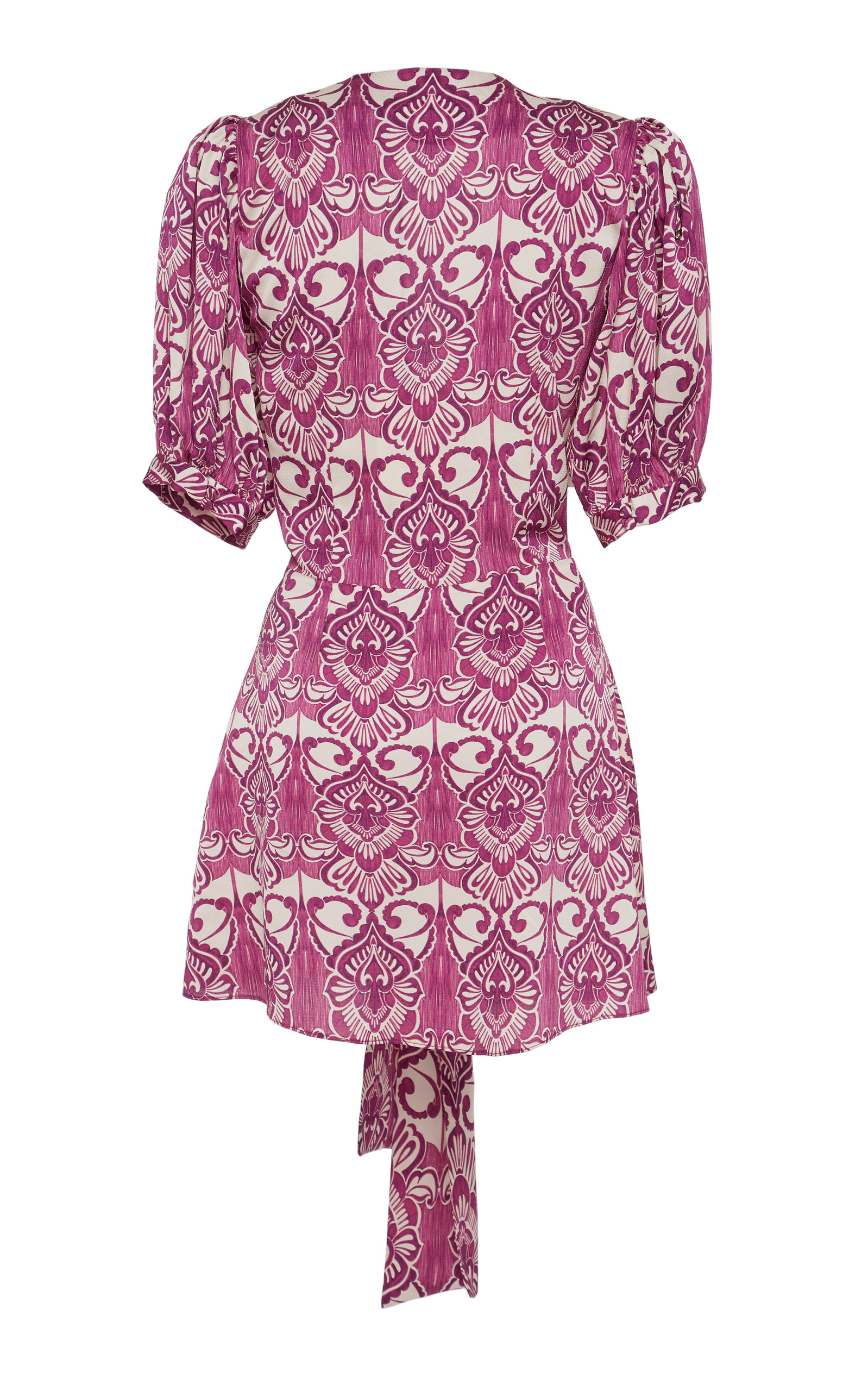 Alexis Dresses Bardot Printed Crepe Mini Dress