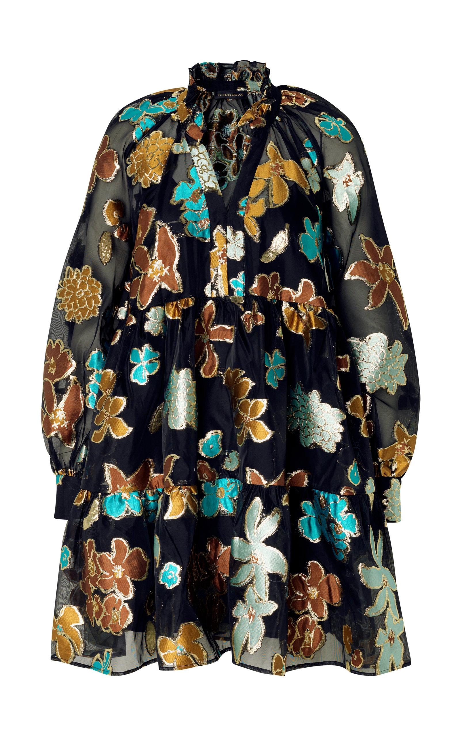 Stine Goya Dresses Jasmine Jacquard Mini Dress