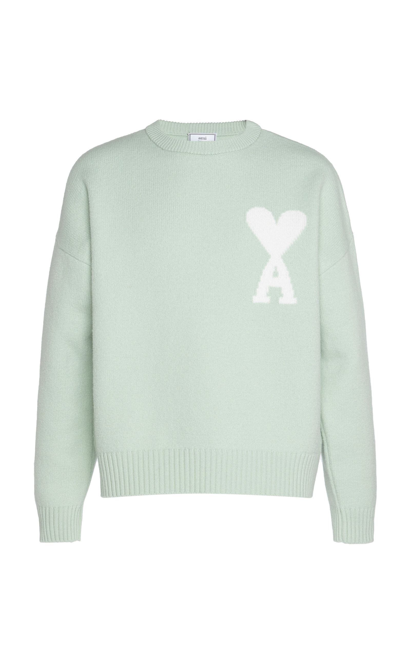 Ami Alexandre Mattiussi Sweaters Oversized Ami De Coeur Wool Sweater