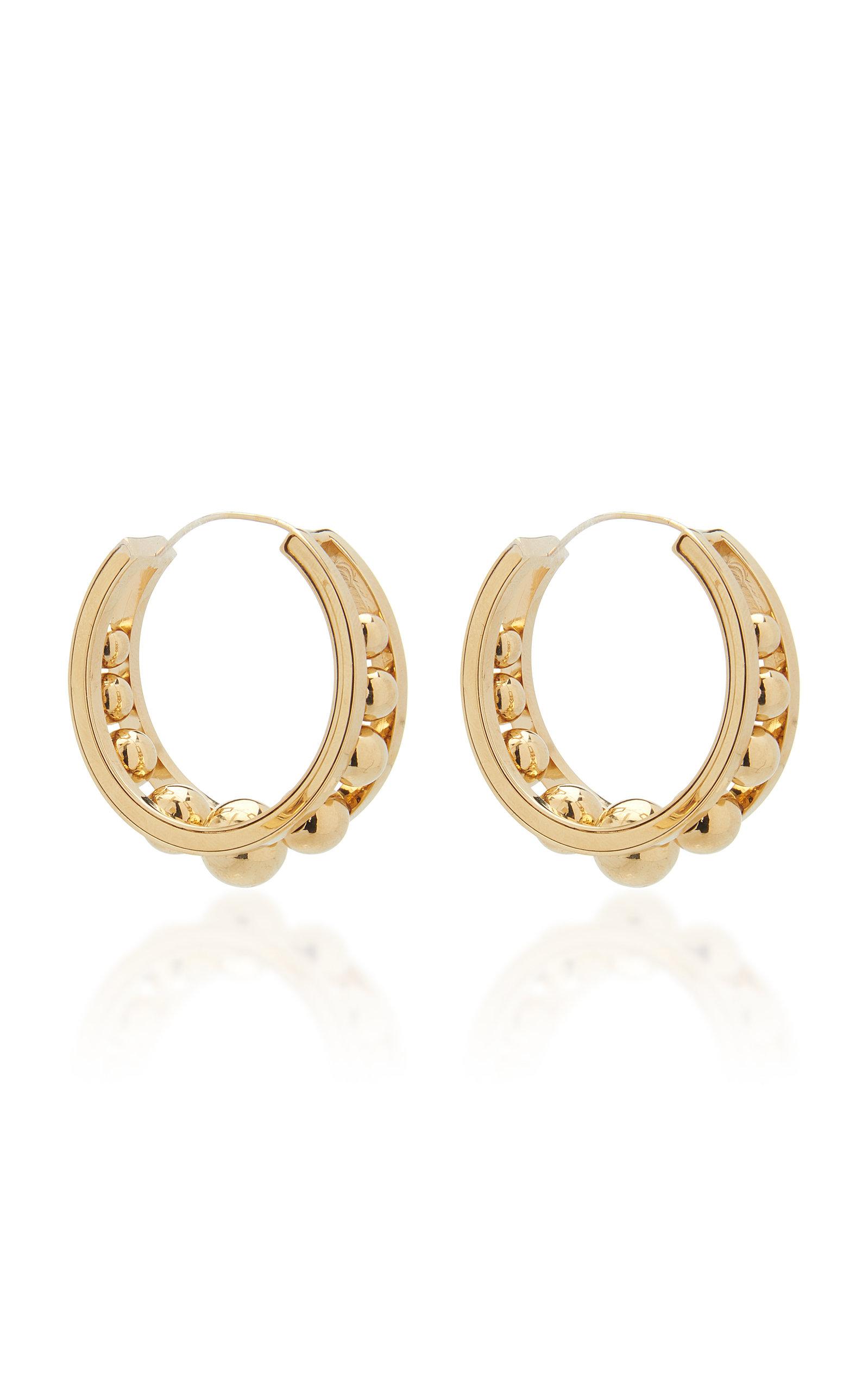 47f486aed70d5 Gold-Tone Metal Hoop Earrings