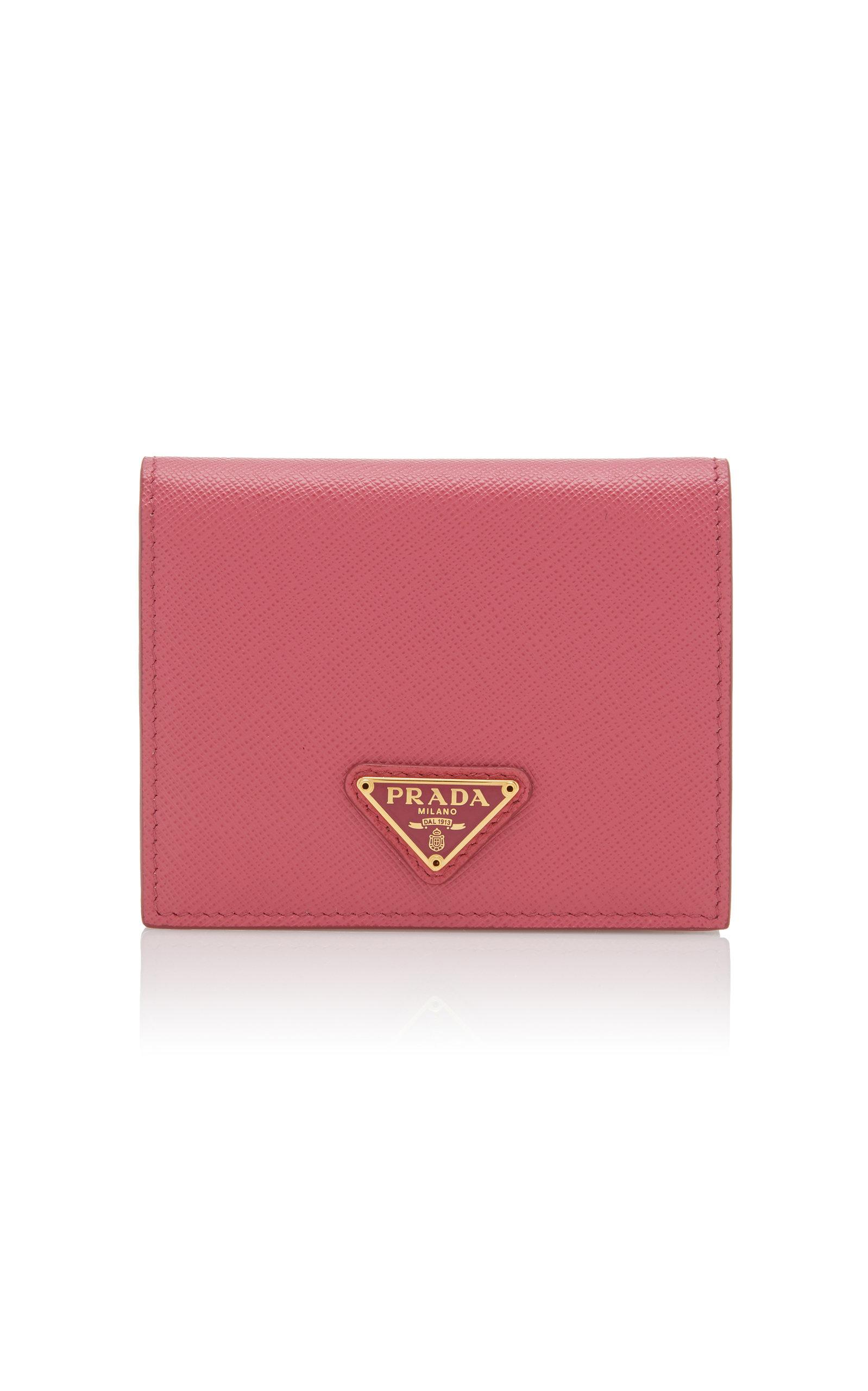 PRADA | Prada Textured-Leather Wallet | Goxip