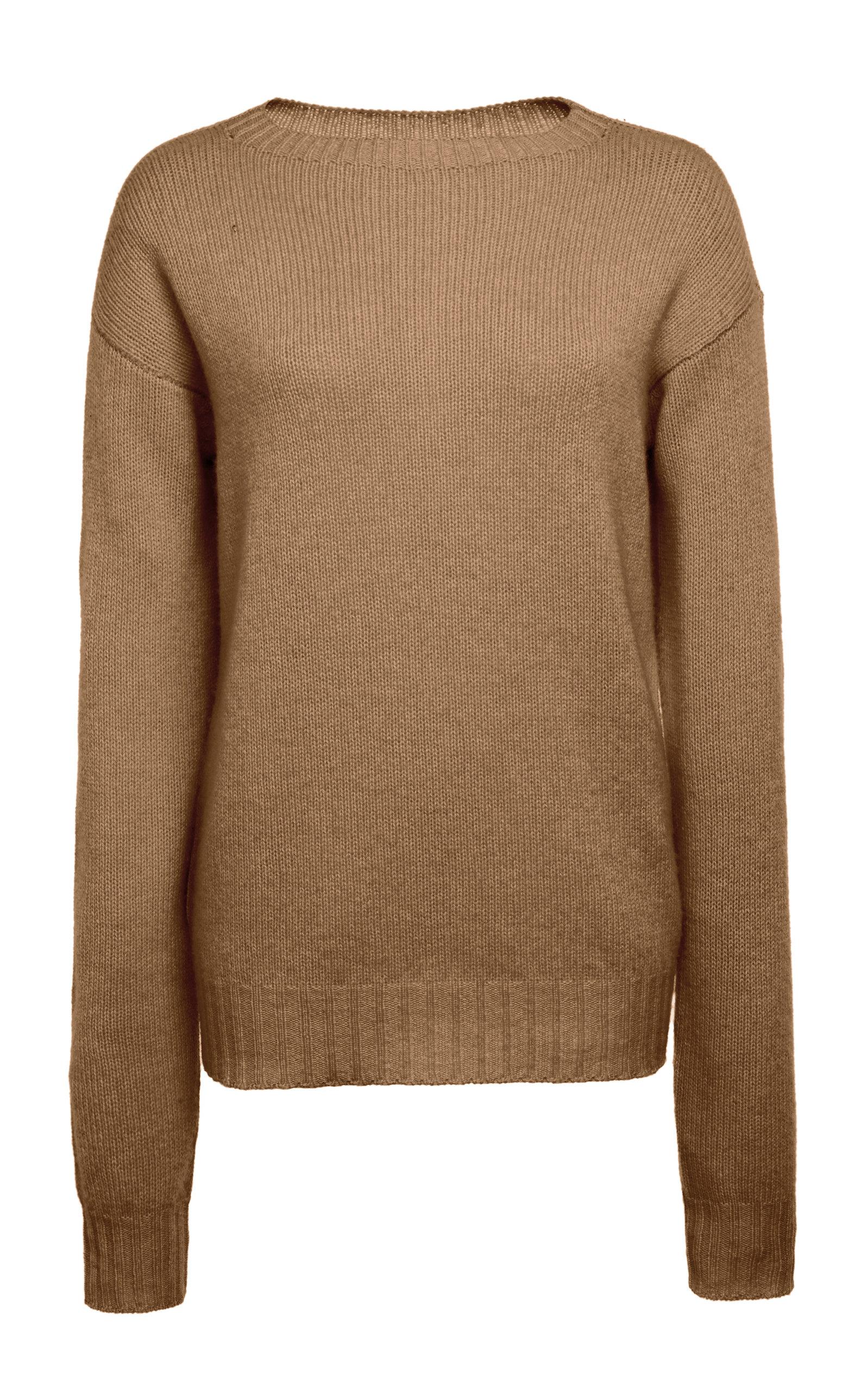 PRADA | Prada Ribbed Cashmere Sweater | Goxip