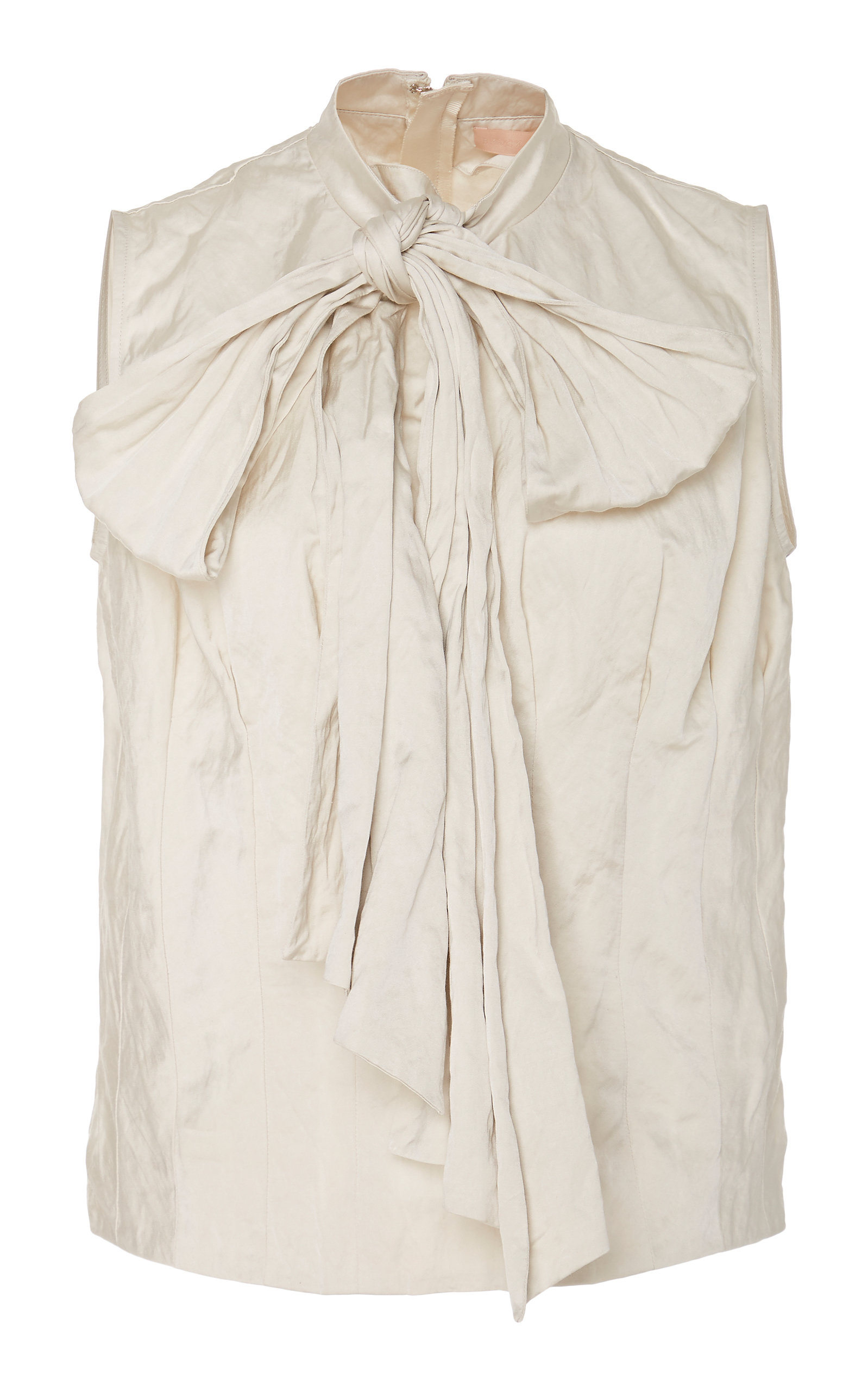 2c428335a Parrot Scarf-Detailed Crepe De Chine Blouse by Brock Collection ...