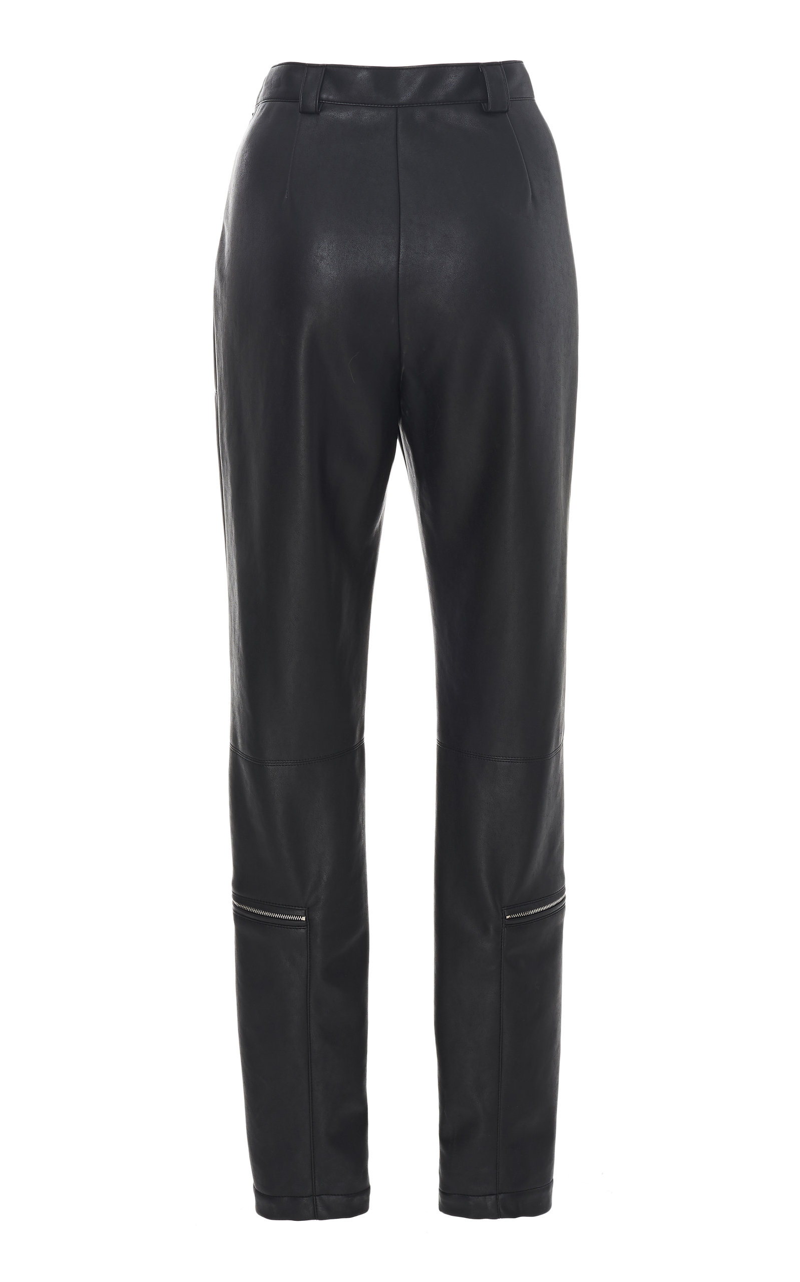 5b2121a3755 Sally LaPointeZip-Detailed Faux Leather Skinny Pants. CLOSE. Loading.  Loading
