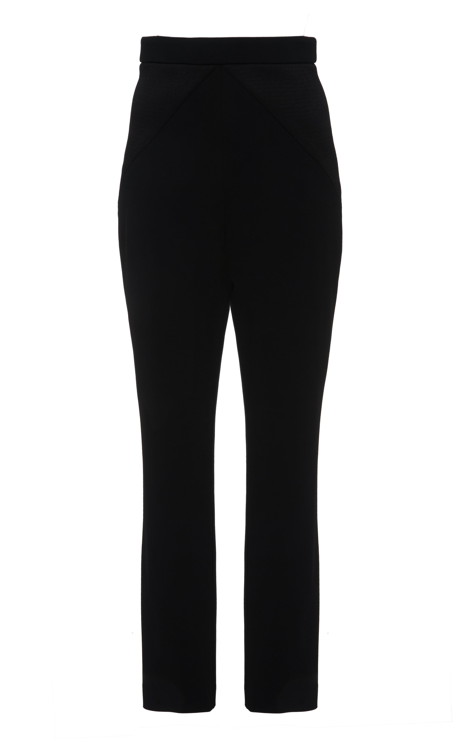 Cushnie Pants SATIN HIGH-RISE SKINNY PANTS