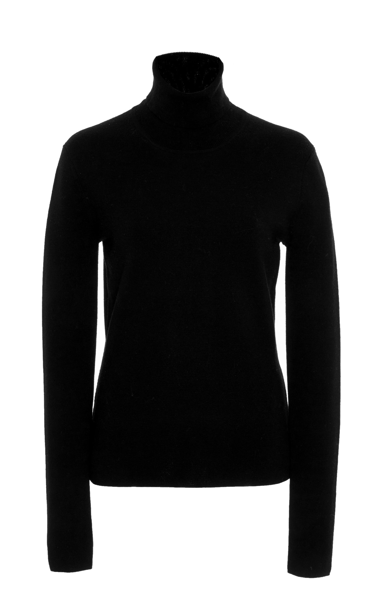 Gabriela Hearst Knits PEPPE RIBBED-KNIT CASHMERE AND SILK TURTLENECK