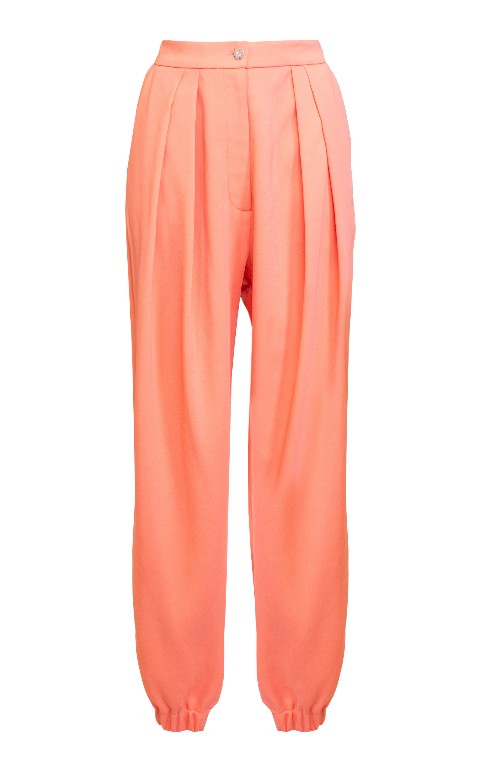 6abf394004dc High-Waist Pleated Crepe Harem Pants by Lake Studio | Moda Operandi