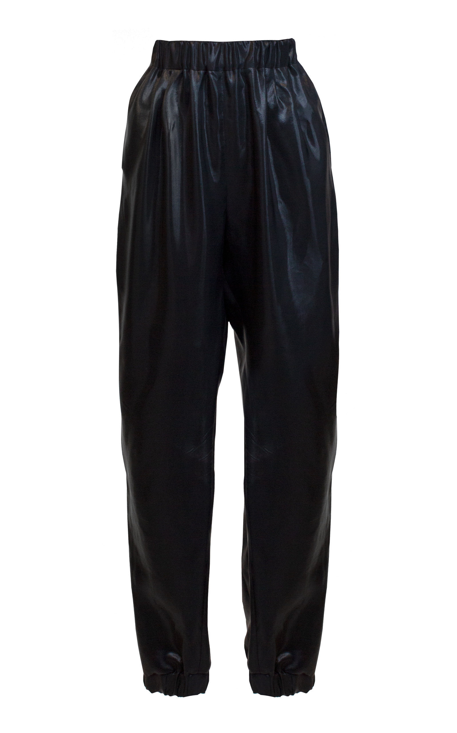 e6c484783ef7 Pleated Crepe De Chine Harem Pants by Lake Studio | Moda Operandi