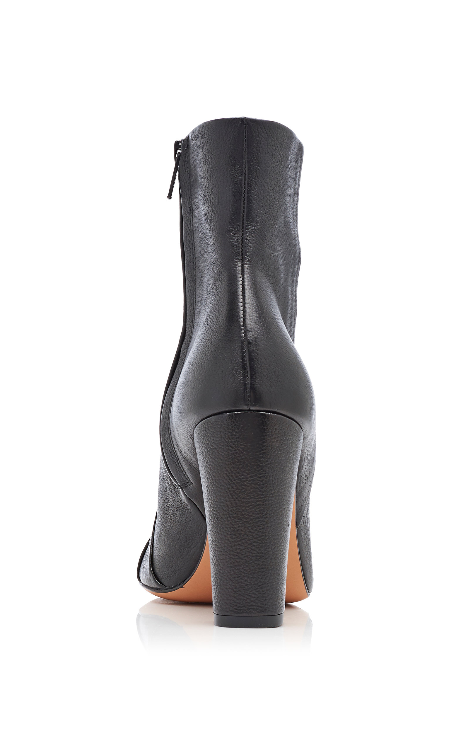 Veronica Beard Boots Marla Paneled Leather Ankle Boots