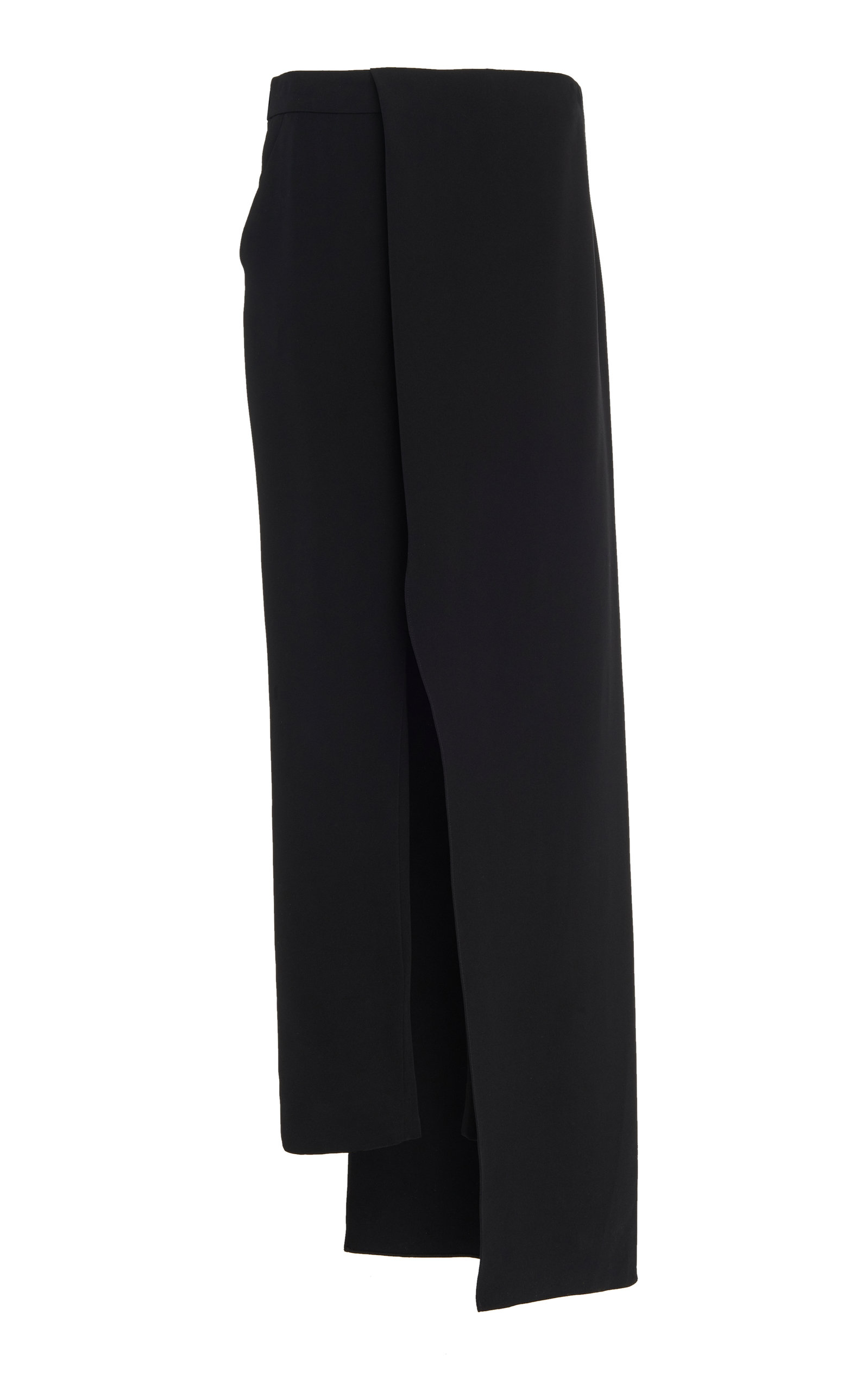 Hellessy Pants Eclipse Skirt-Detailed Cady Straight-Leg Pants