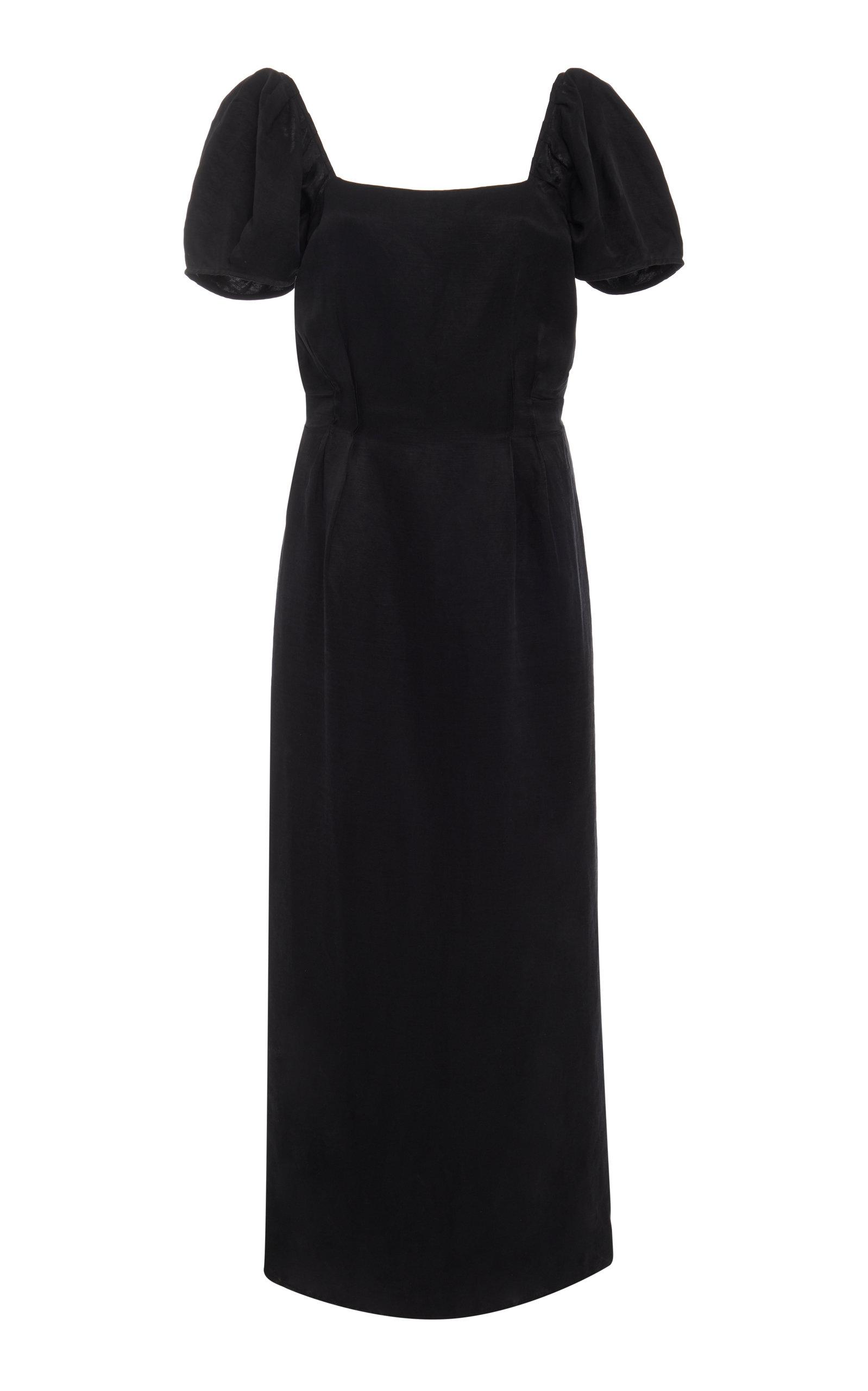SIR THE LABEL | Sir The Label Inez Linen Midi Dress | Goxip