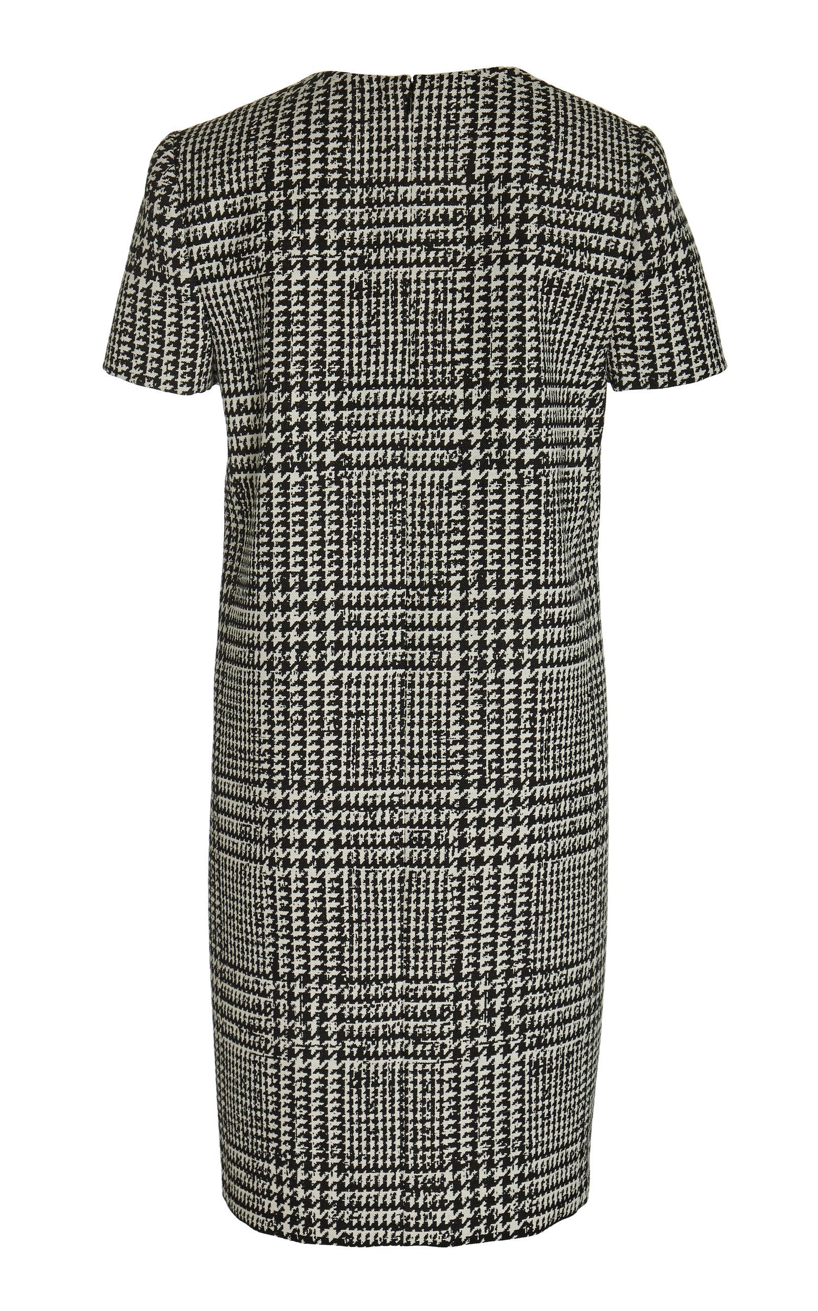Carolina Herrera Dresses Prince Of Wales Checked Mini Shift Dress