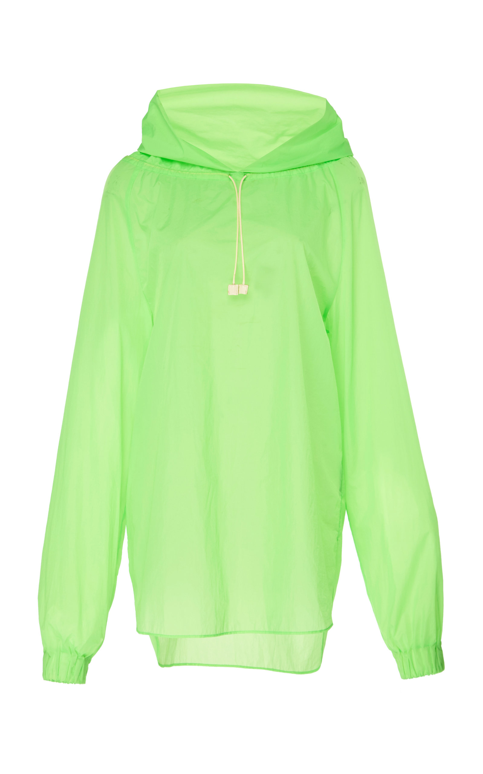 Rejina Pyo Tops ERICA HOODED SATIN BLOUSE