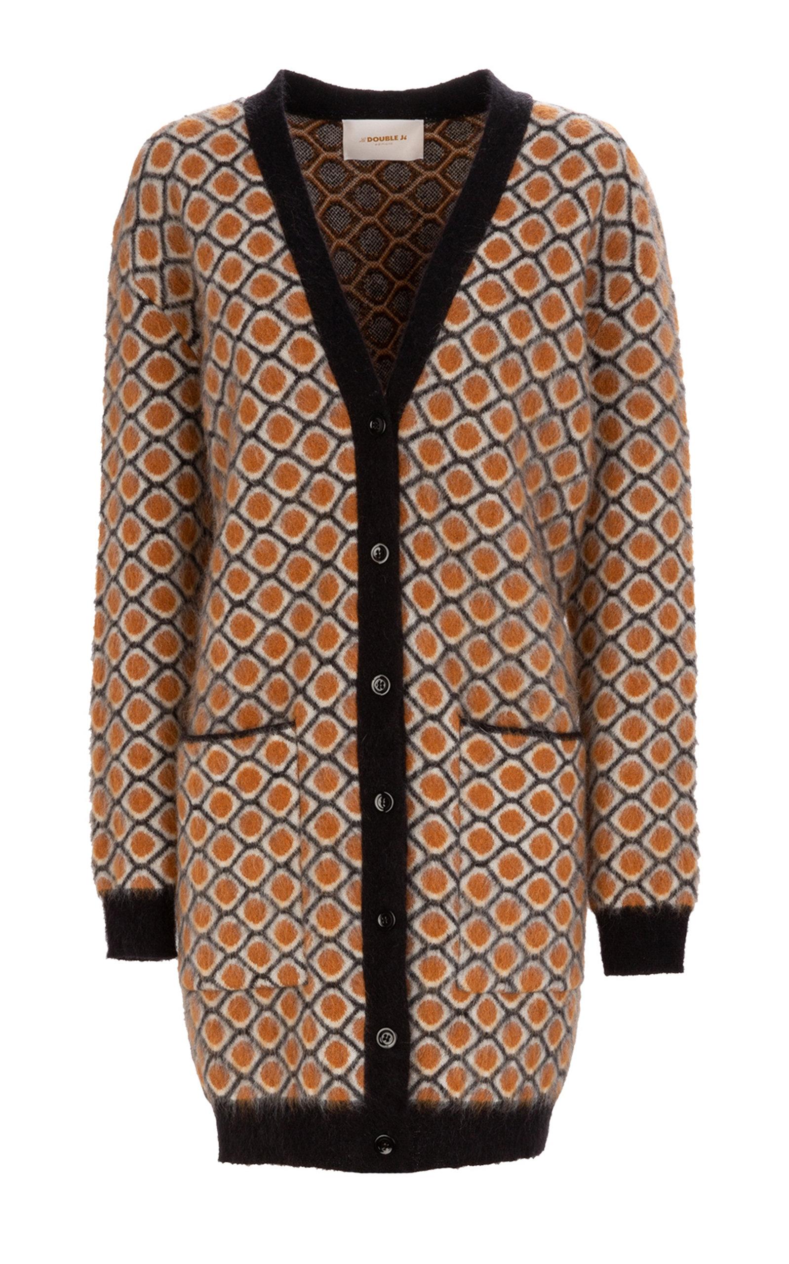 La Doublej Coats OVERSIZED MOHAIR-BLEND CARDIGAN COAT