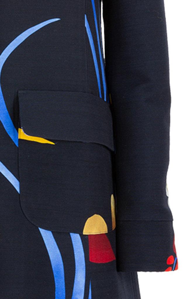 La Doublej Coats Collared A-Line City Coat