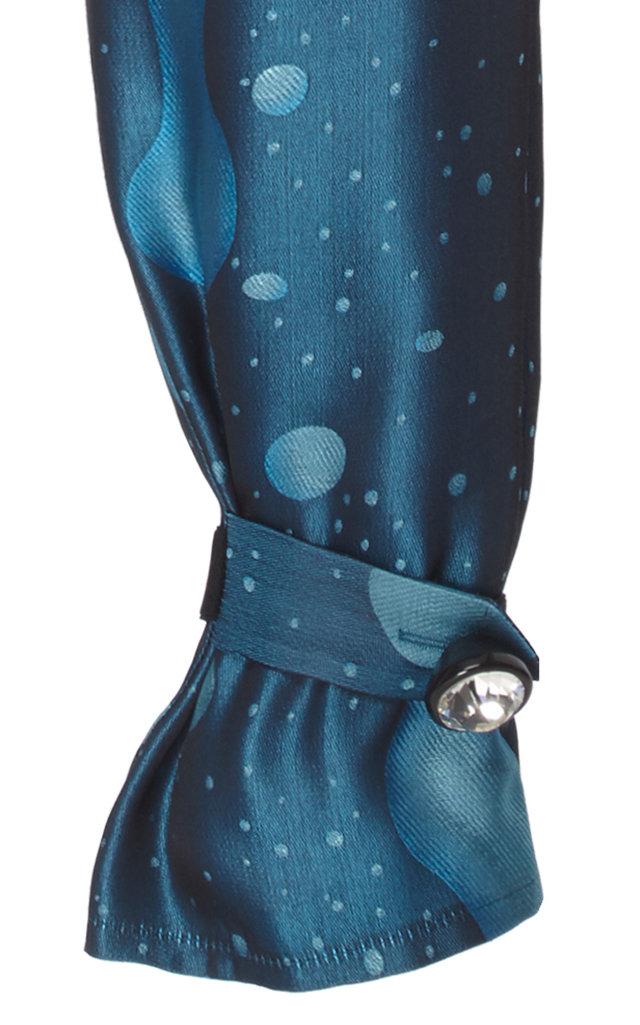 Christopher Kane Pants Silk Jacquard Straight-Leg Pants