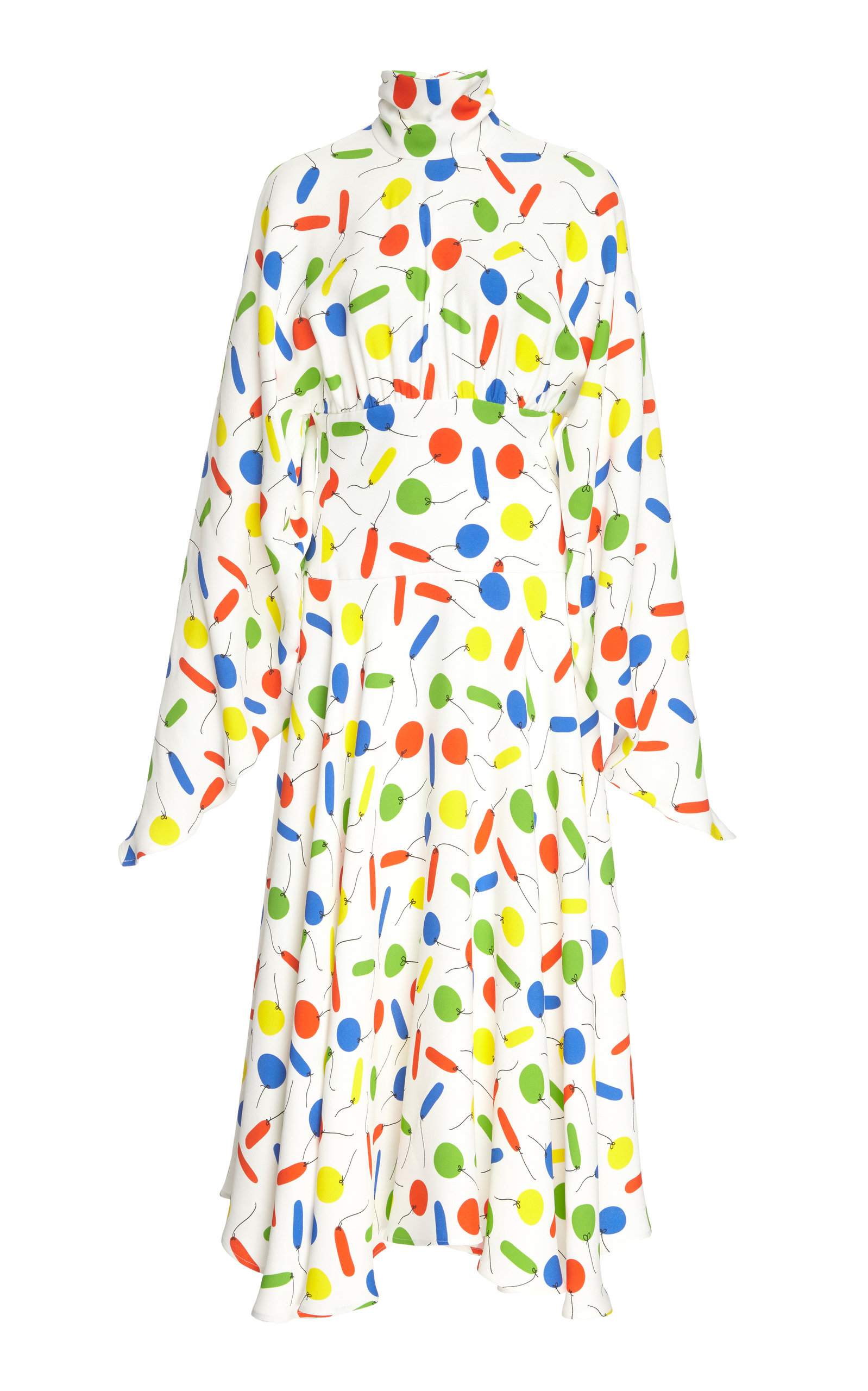 Christopher Kane Dresses Balloon Printed Midi Dress
