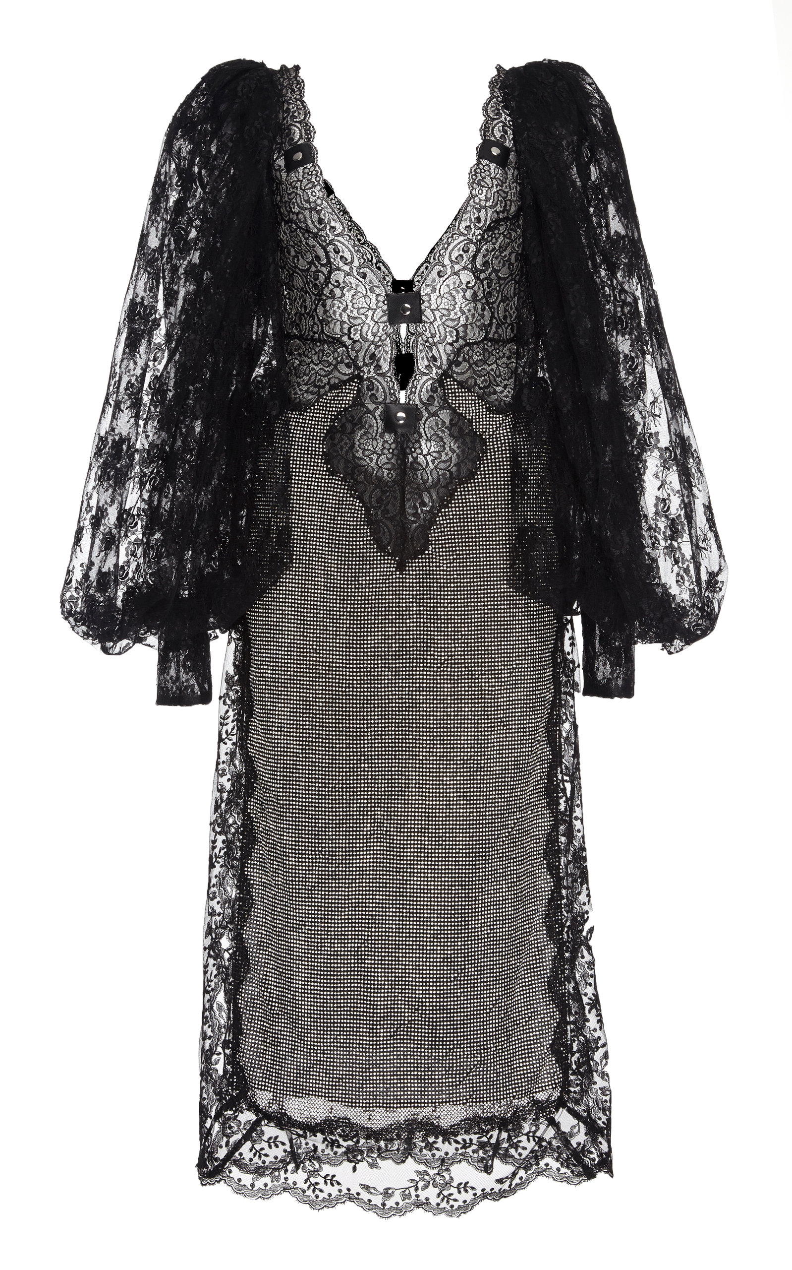 4f3141931b Crystal Lace Mesh Midi Dress by Christopher Kane | Moda Operandi