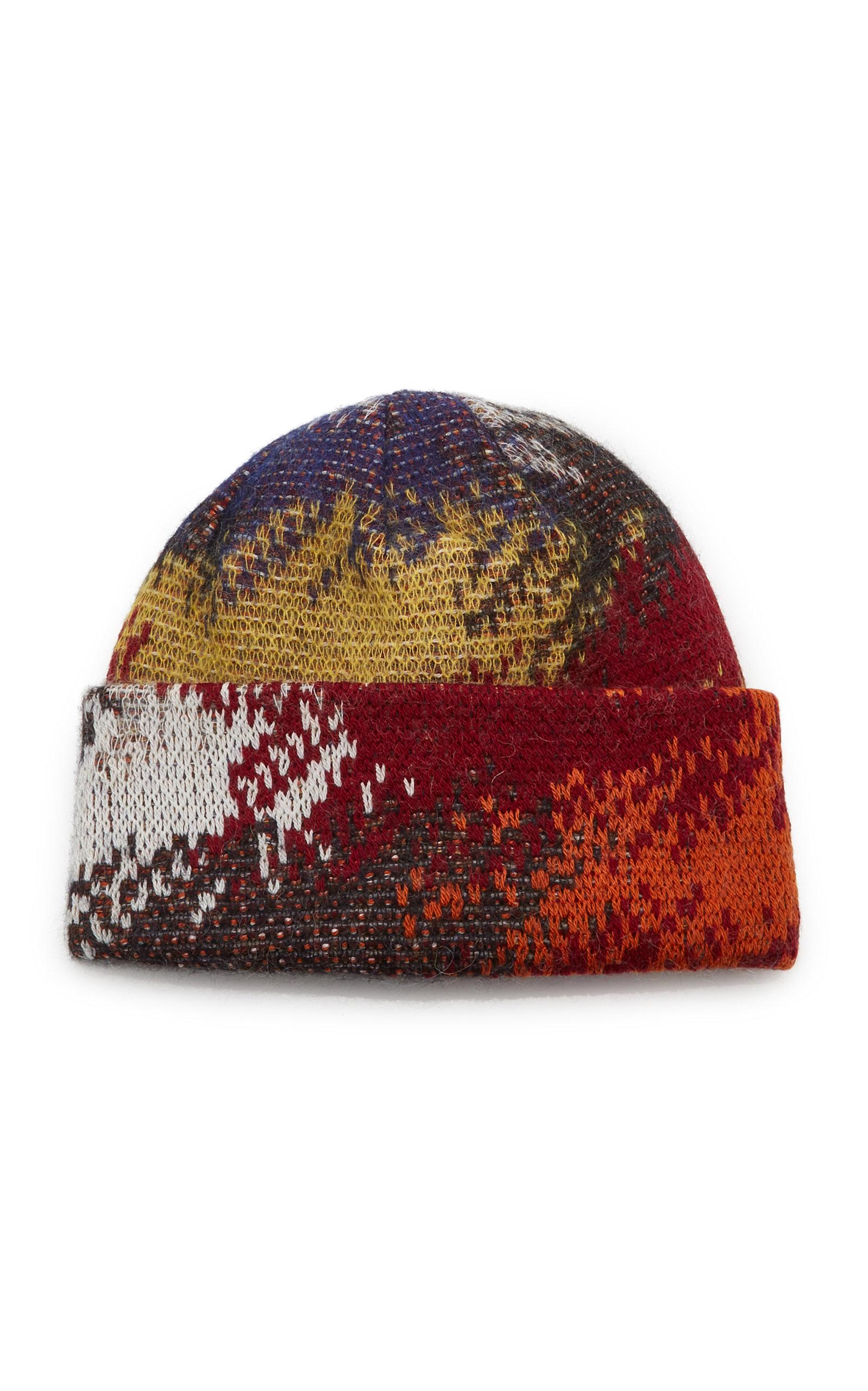 Missoni Hats Abstract-Print Wool-Blend Beanie
