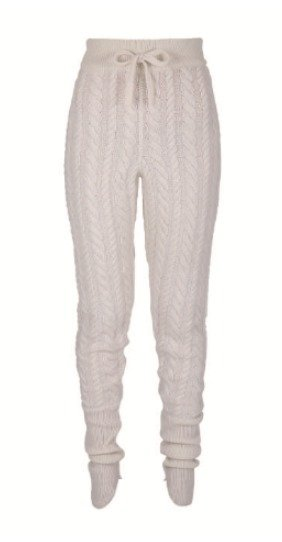 Attico Knits Cable Knit Joggers
