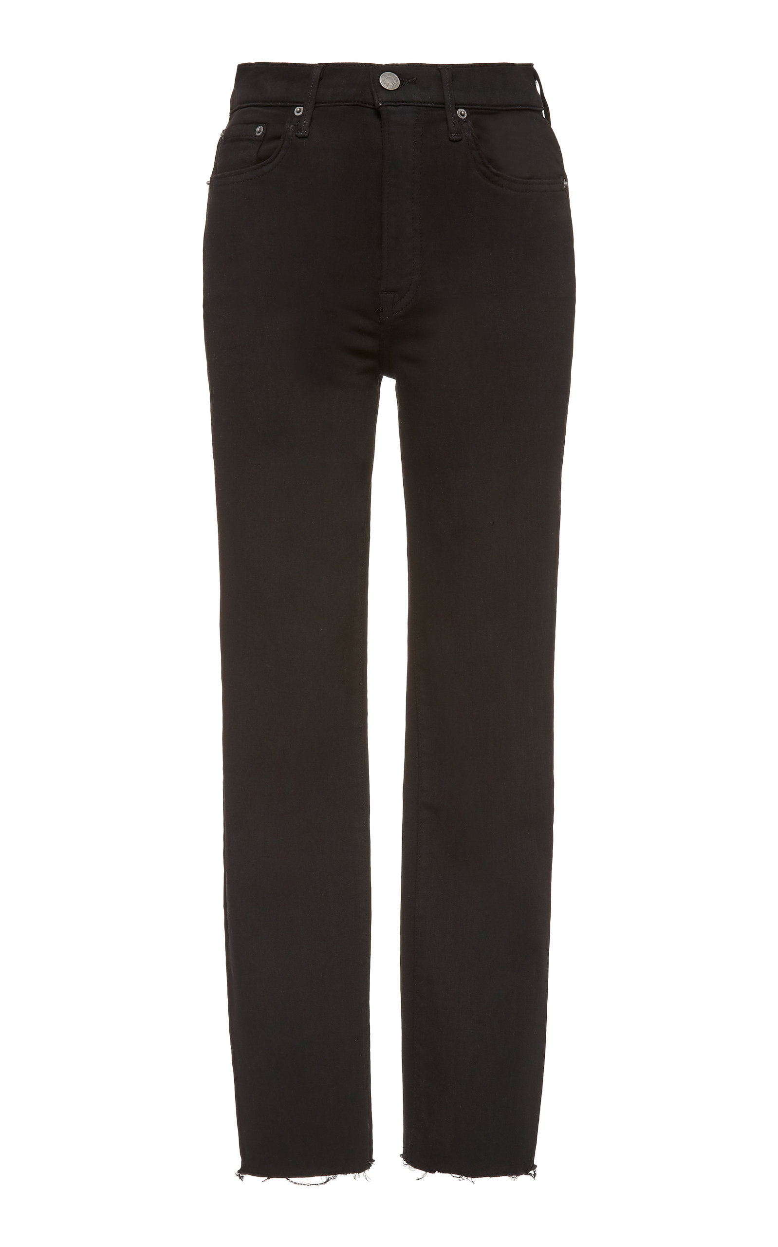 Grlfrnd Jeans REED CROPPED CIGARETTE JEANS