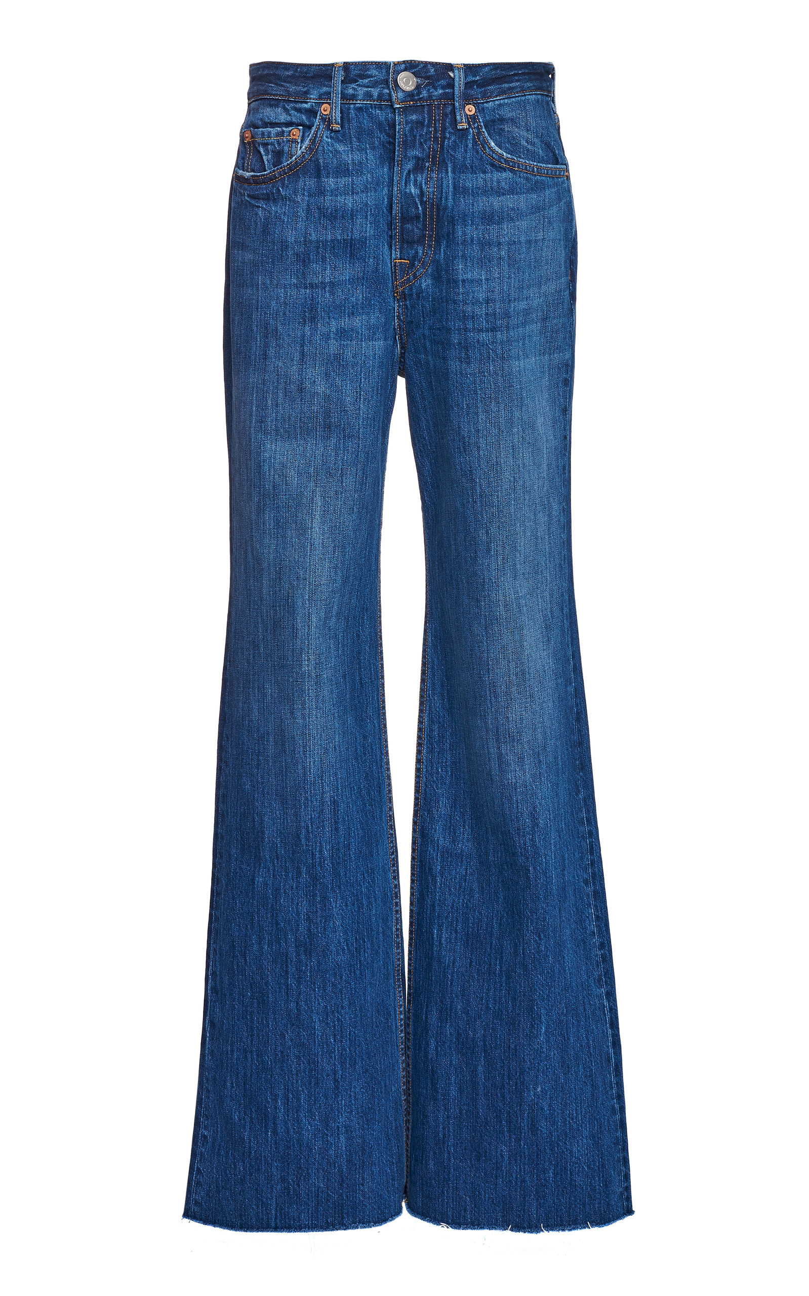Grlfrnd Jeans CARLA HIGH-RISE WIDE-LEG JEANS