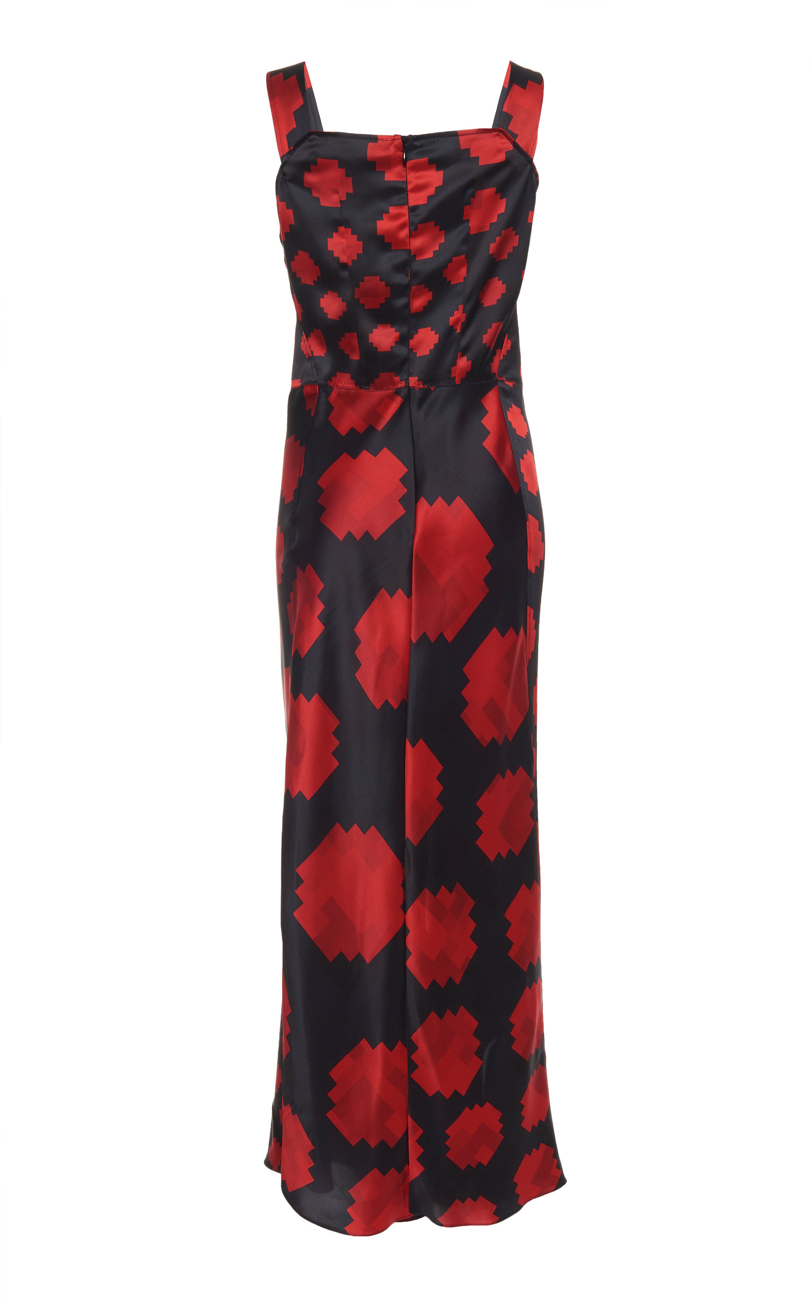 66c371870329 Printed Ruched Satin Maxi Dress by Marni | Moda Operandi