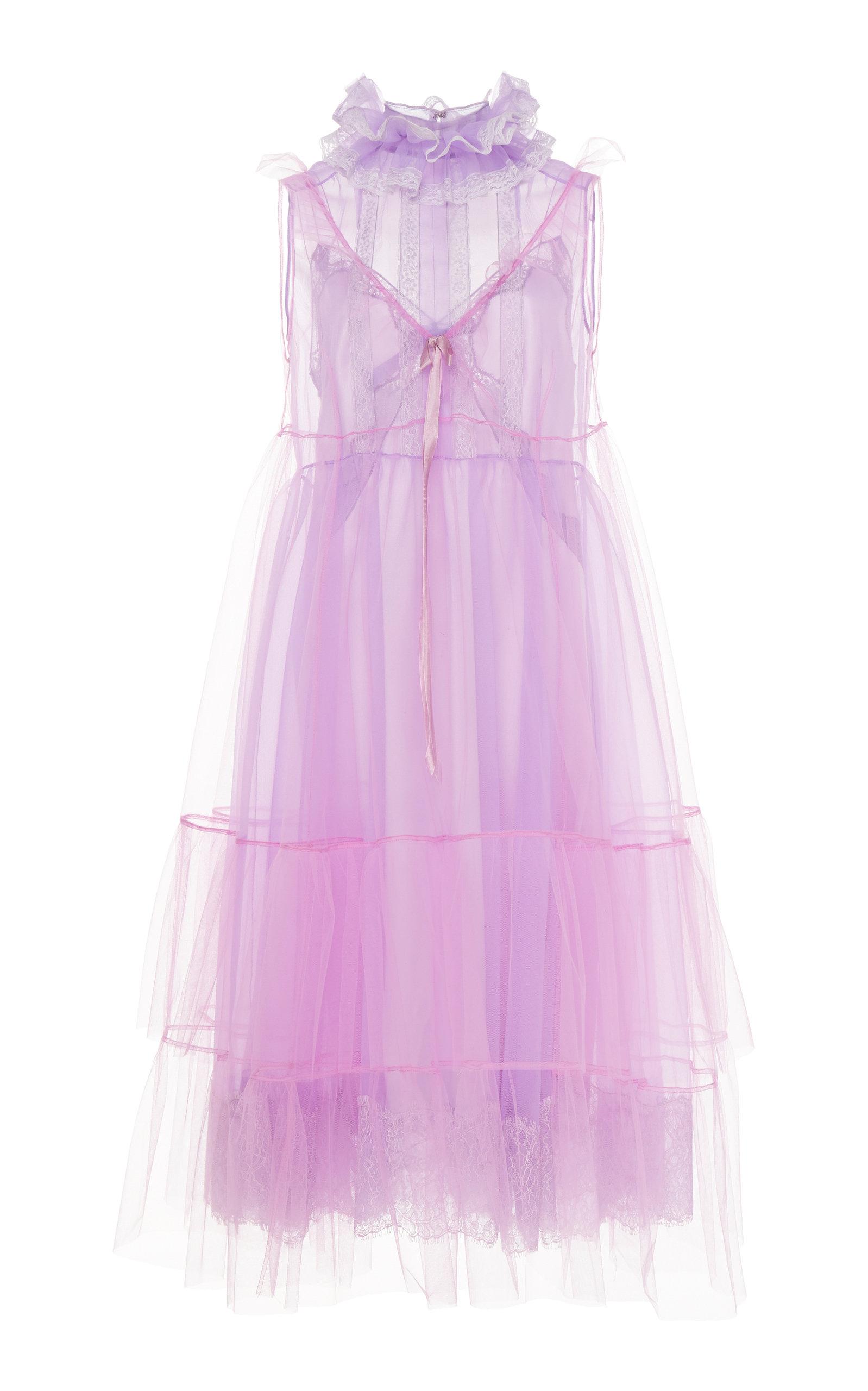 34c3c68d46 Marc JacobsCrinkled Semi-Sheer Organza Dress. CLOSE. Loading