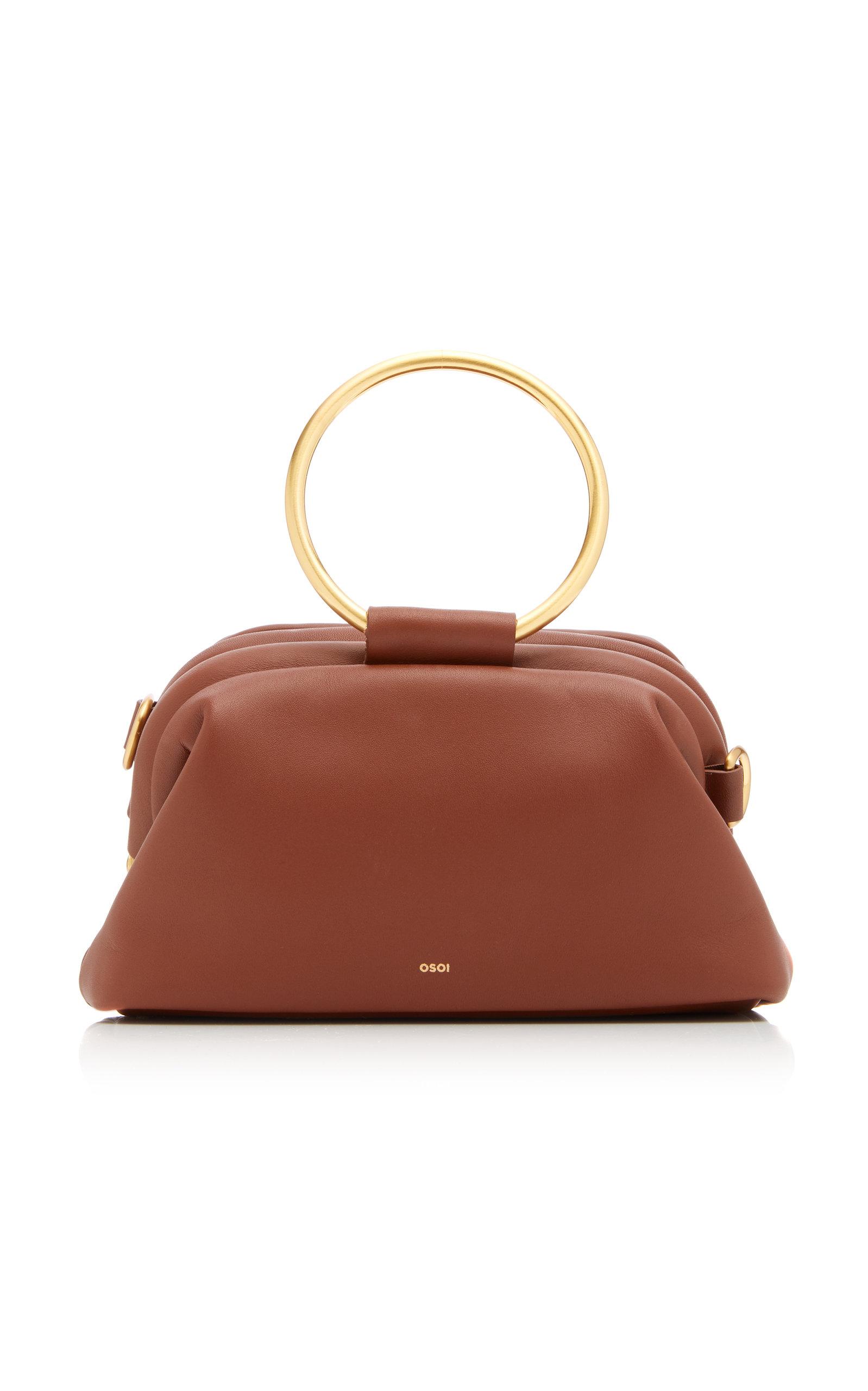 OSOI   OSOI Finger Brot Leather Bag   Goxip