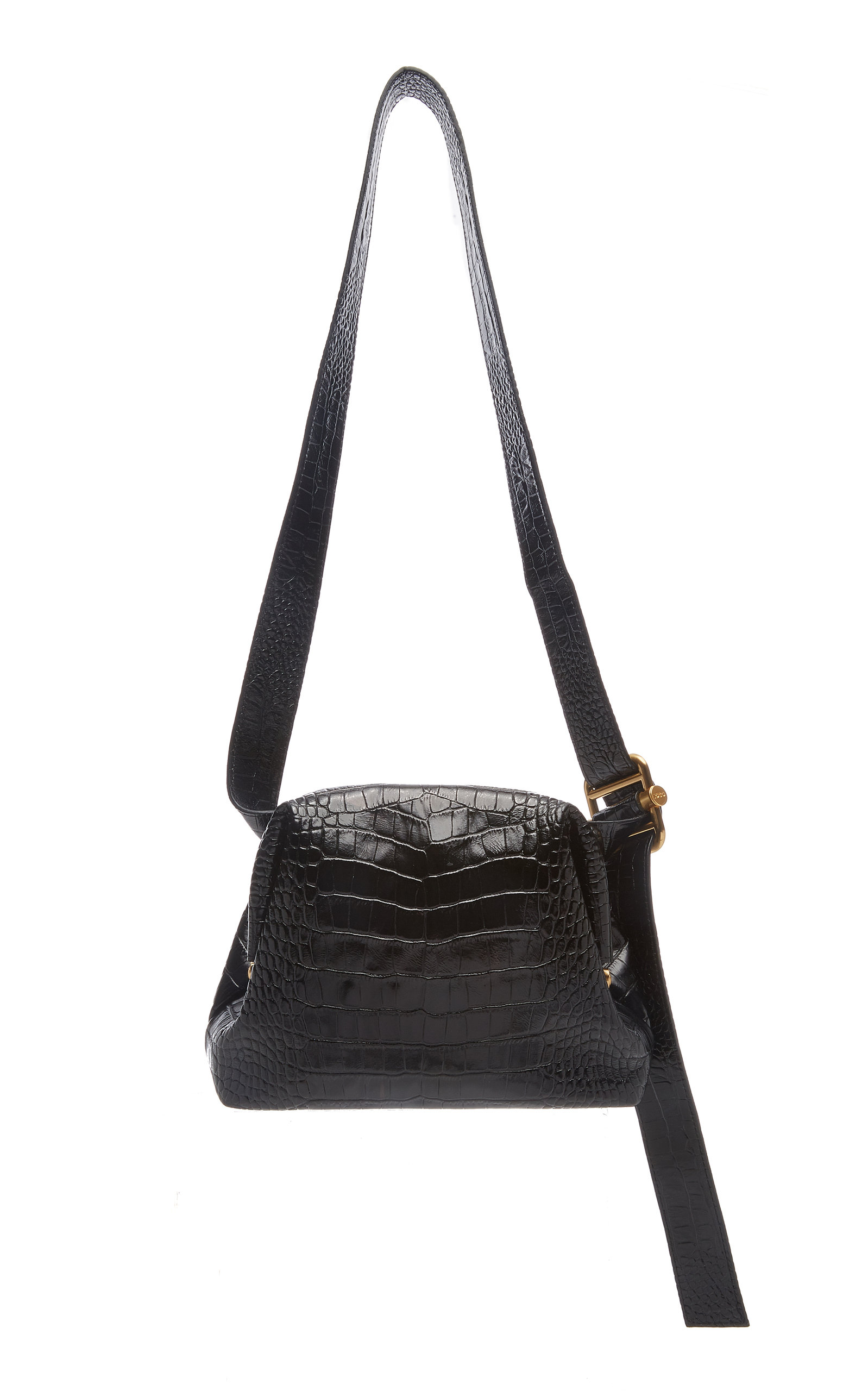 d752433c7ab48 Brot Mini Croc-Effect Leather Bag by OSOI
