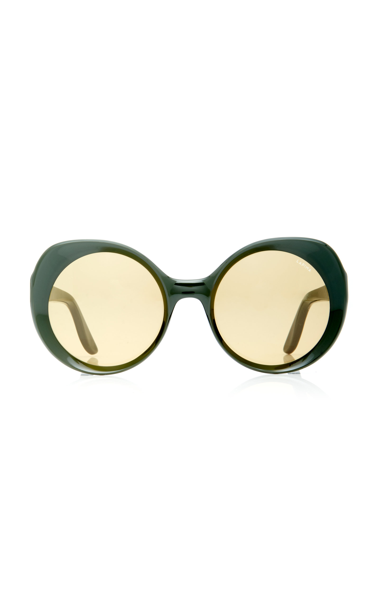 f6eaa0672b Carlota Round-Frame Acetate Sunglasses