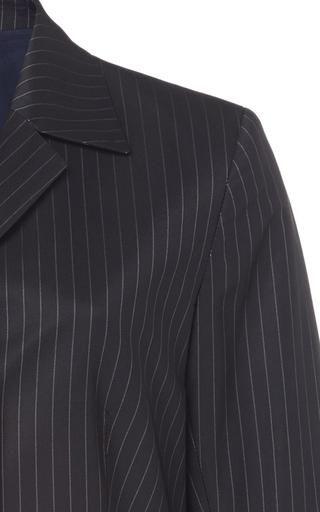 9b3d014a7e5a1 Thora Pinstripe Blazer by Molly Goddard | Moda Operandi