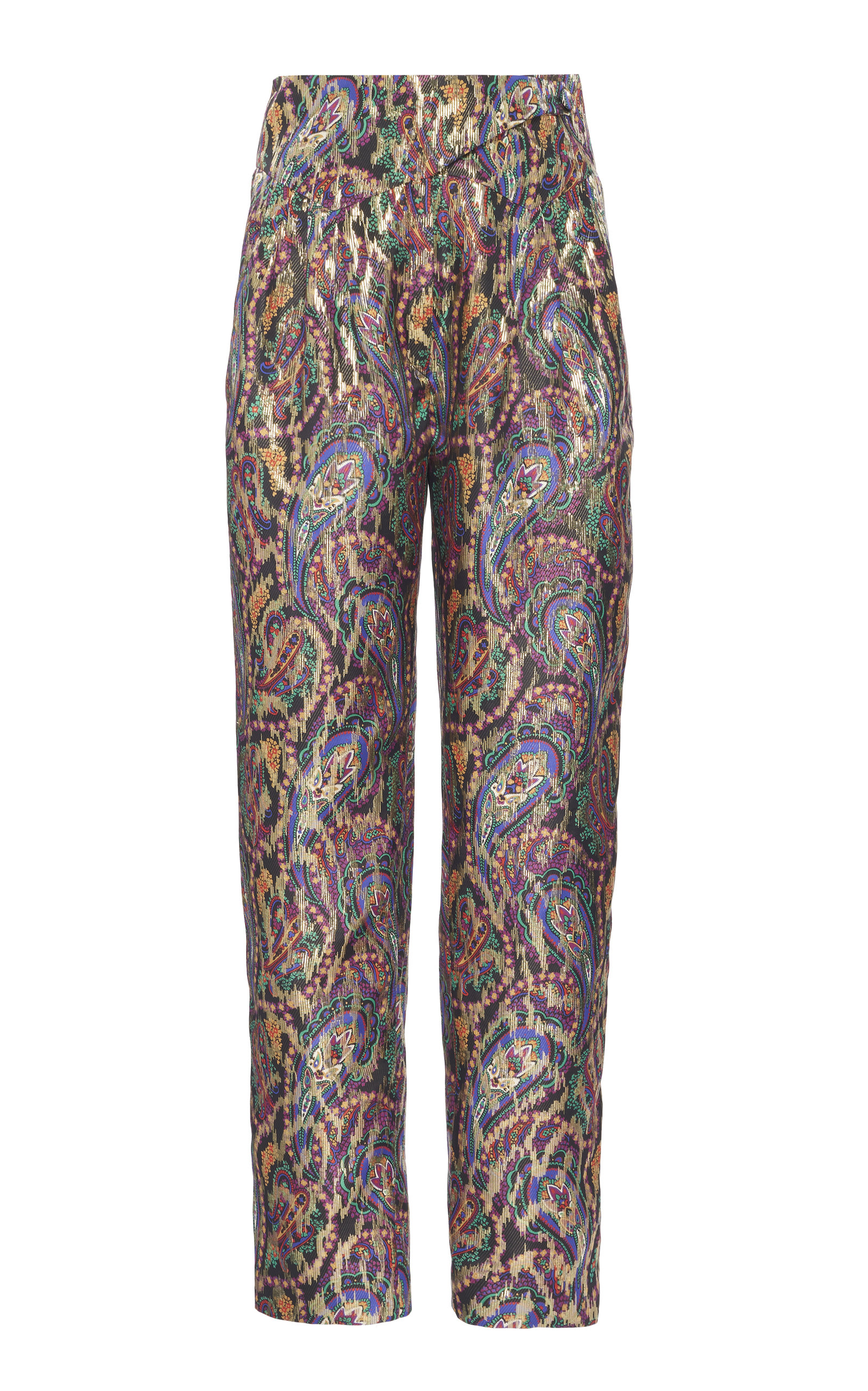 Blazé Milano Pants SULTANA PAISLEY SILK BASQUE PANTS