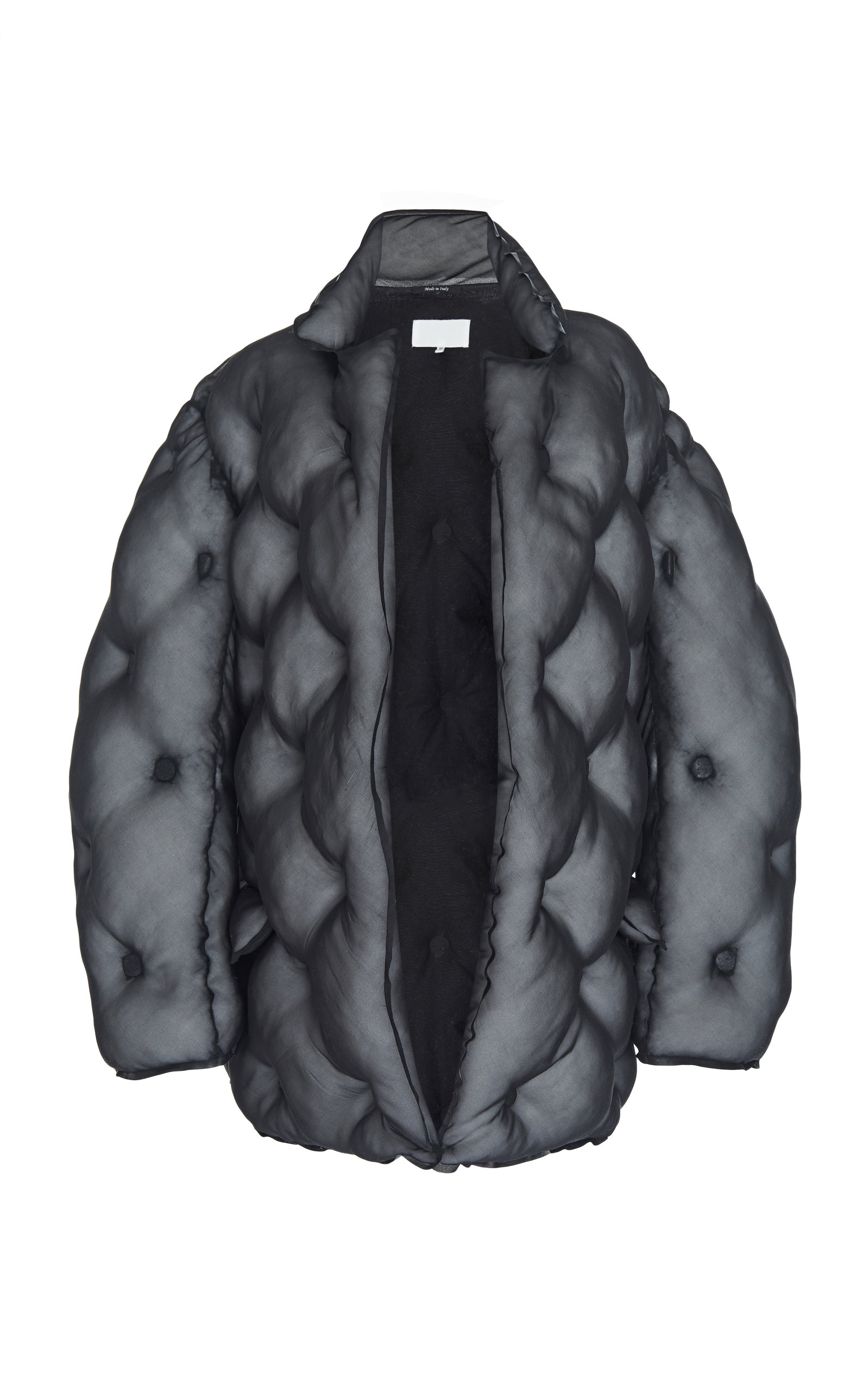 ee36bc616 Belted Silk Puffer Jacket