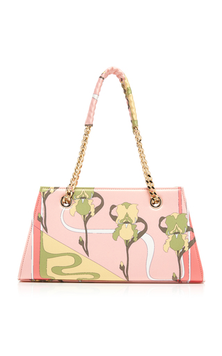 RIXO | RIXO Dusty Printed Satin Bag | Goxip