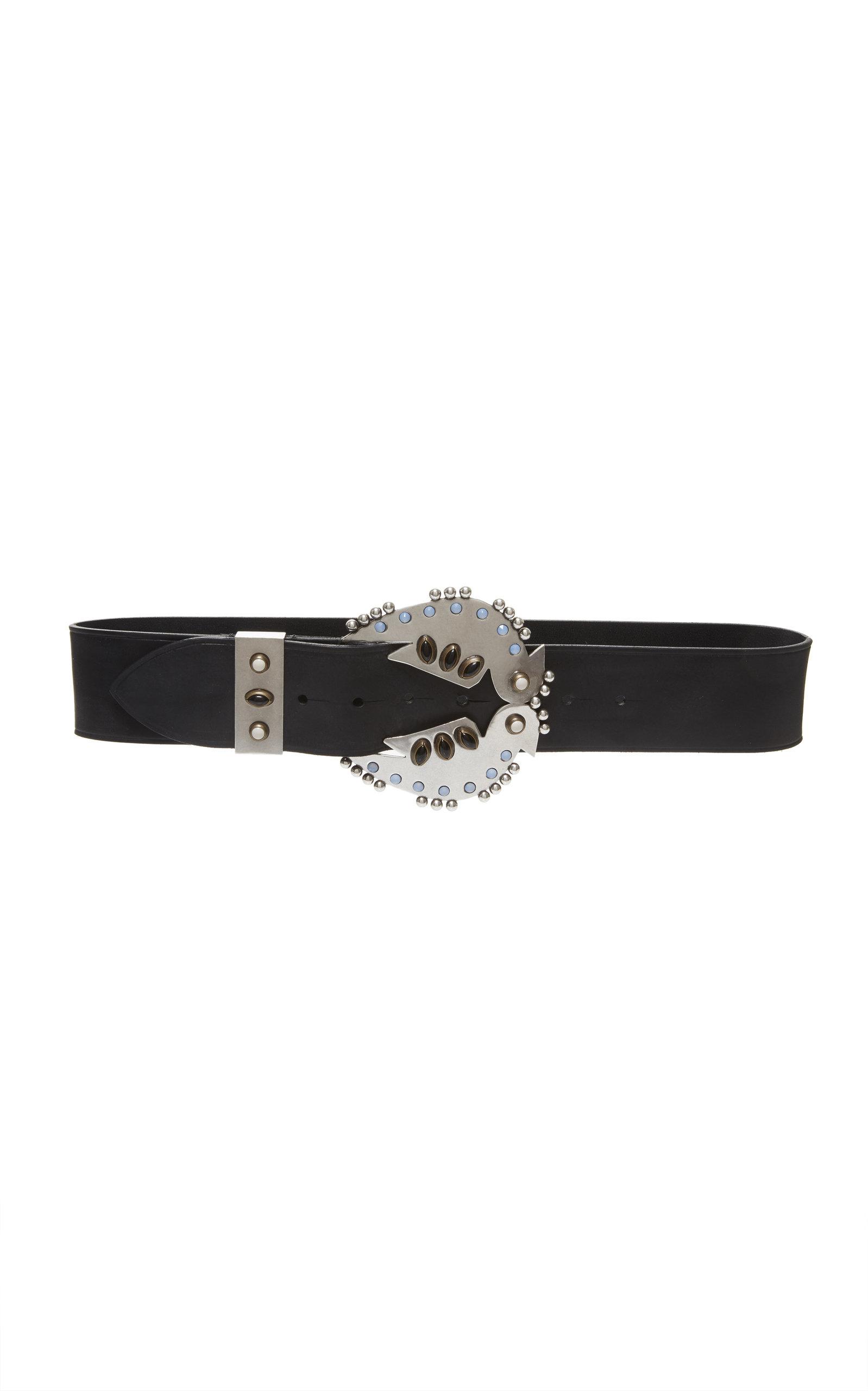 Isabel Marant Belts Abigail Studded Leather Belt
