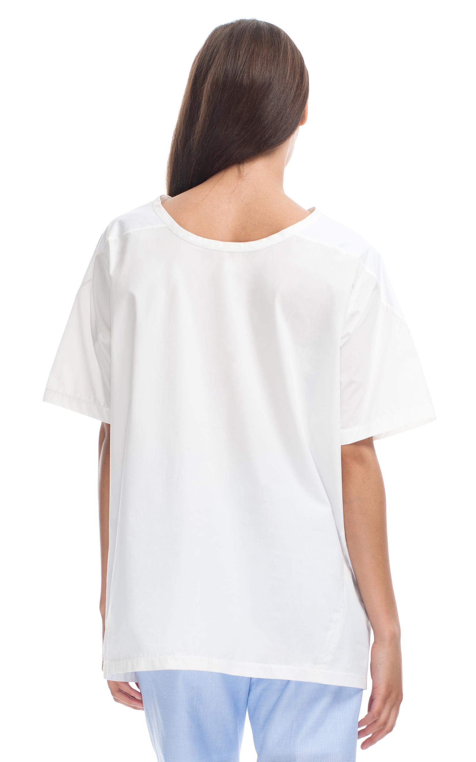 Christopher esber block tee dress white shirt